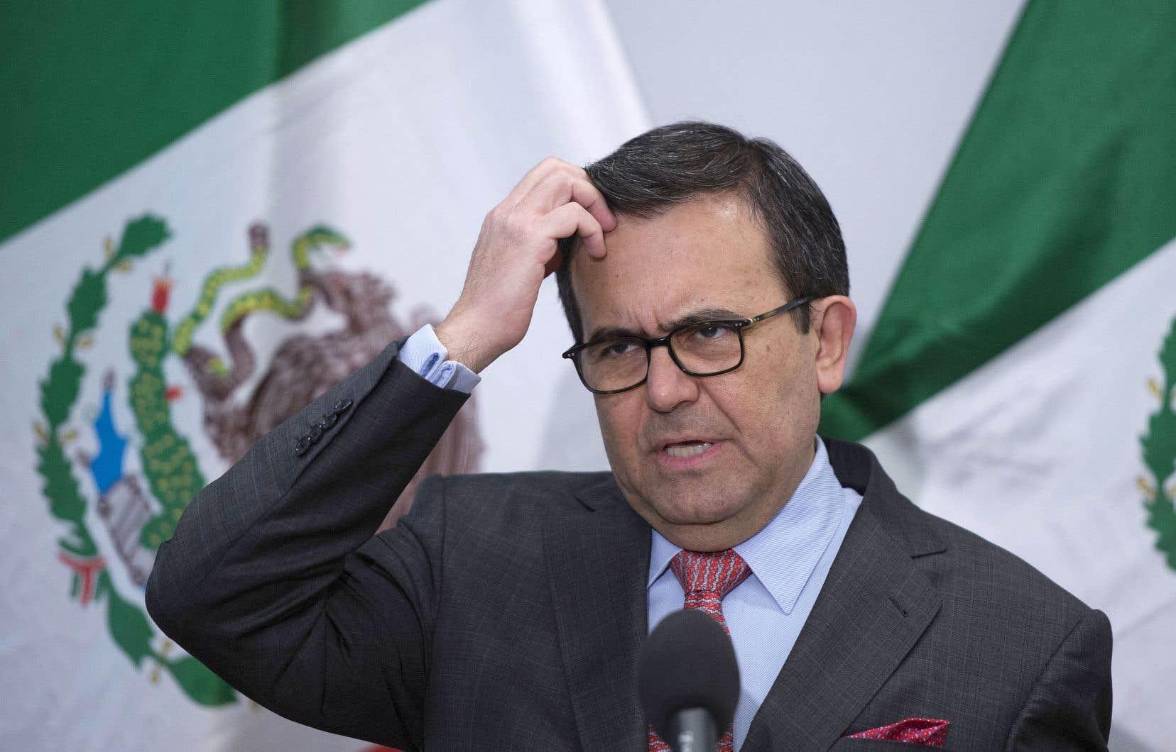 «Nous comprenons que nous avons tous nos limites», a déclaré le ministre mexicain de l'Économie, Ildefonso Guajardo.