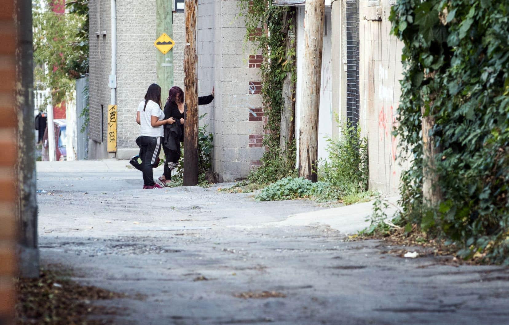 La majorité des surdoses ont eu lieu dans la circonscription de Sainte-Marie–Saint-Jacques, dans le centre-ville de Montréal.