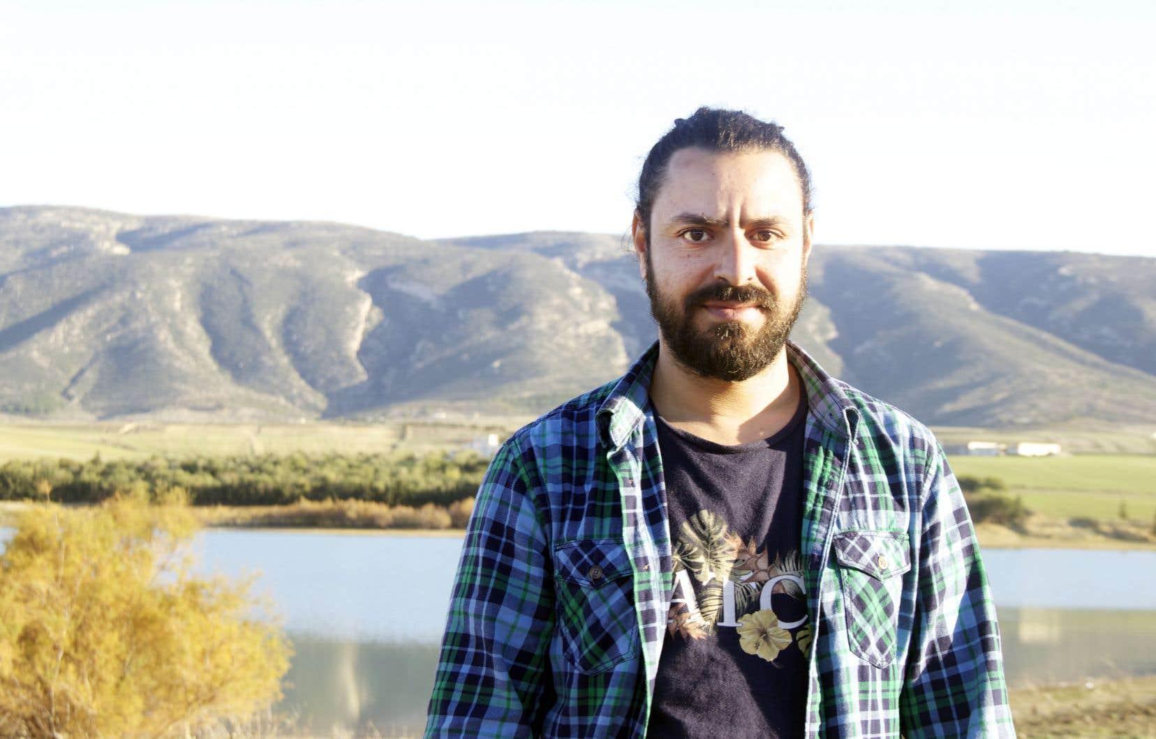 Nidhal Yahyaoui a créé Bargou 08, du nom de son village d'origine, et dont les sonorités sont propres à cette région tunisienne.
