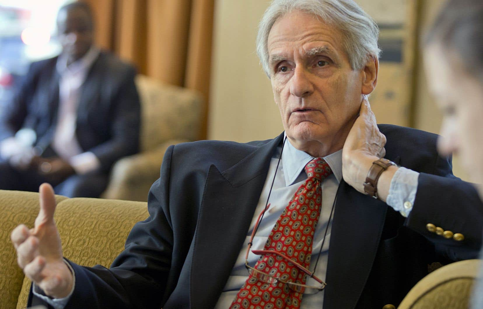 Le sociologue et historien Gérard Bouchard