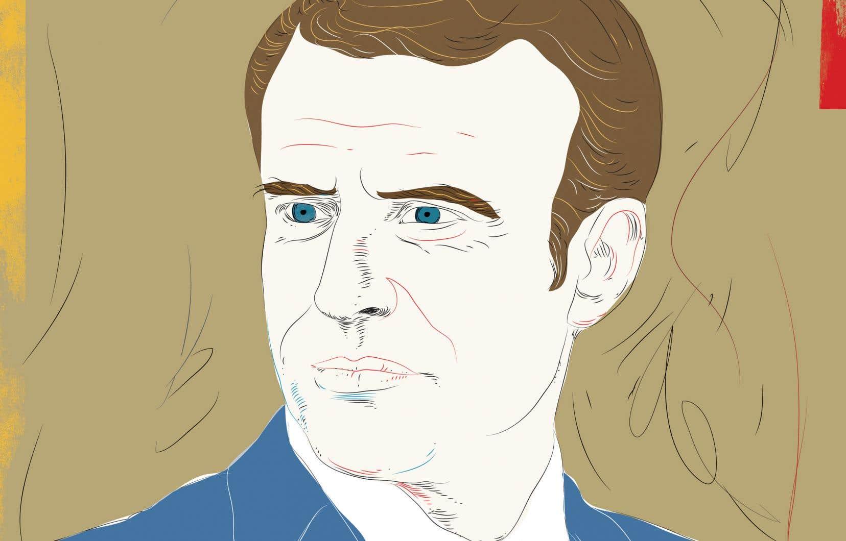Un homme à la détermination sans faille: c'est ainsi que Philippe Besson décrit Emmanuel Macron dans «Un personnage de roman».
