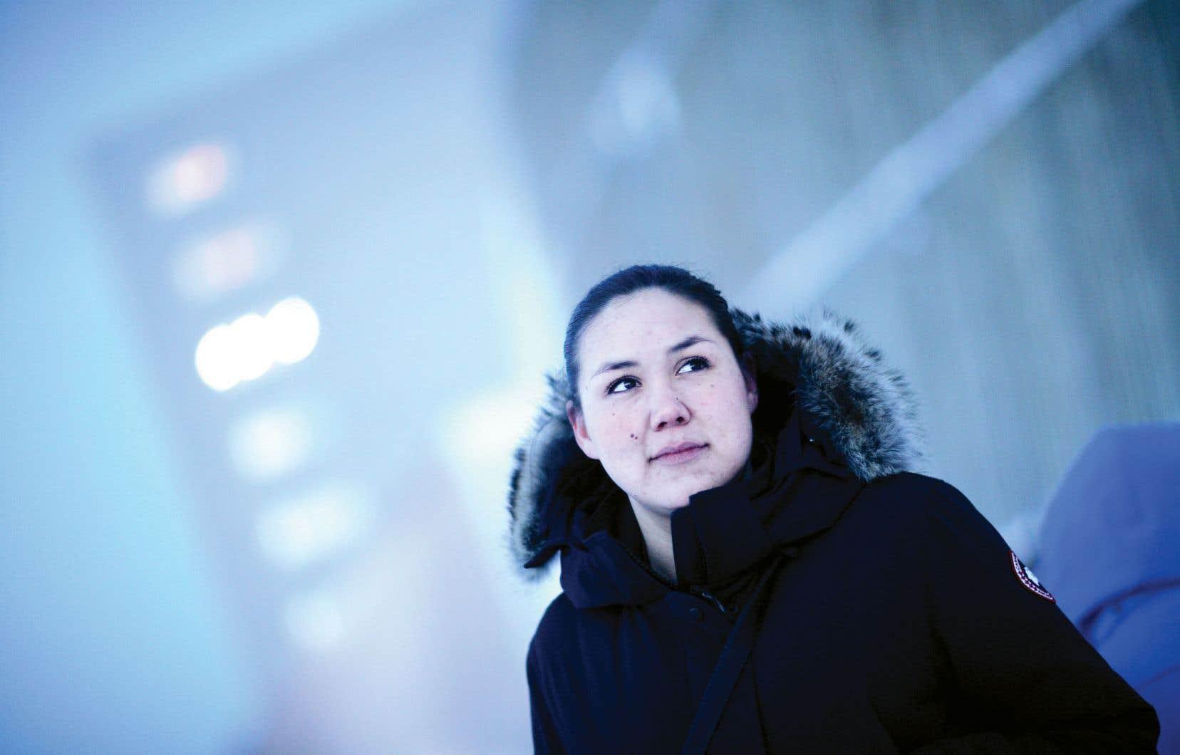 «C'est la voix de cette jeunesse, de ma génération, que je voulais faire entendre», souligne la romancière Niviaq Korneliussen.