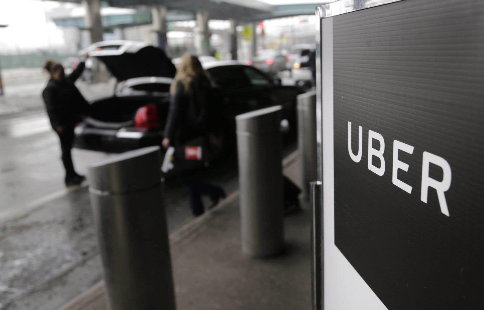 L'entreprise Uber s'est défendue de retenir «les renseignements relativement à des incidents».