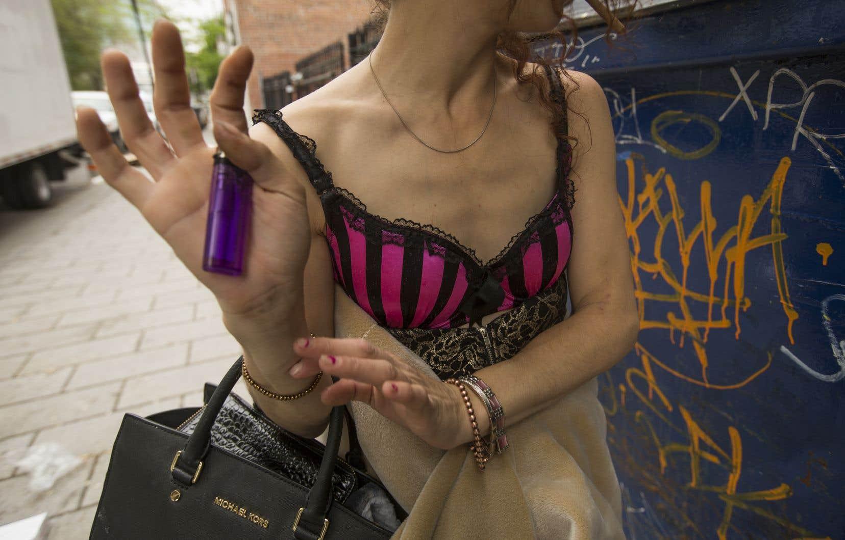 «Y a-t-il un #metoo pour les femmes qui se trouvent dans l'industrie de sexe?» demande l'auteure.