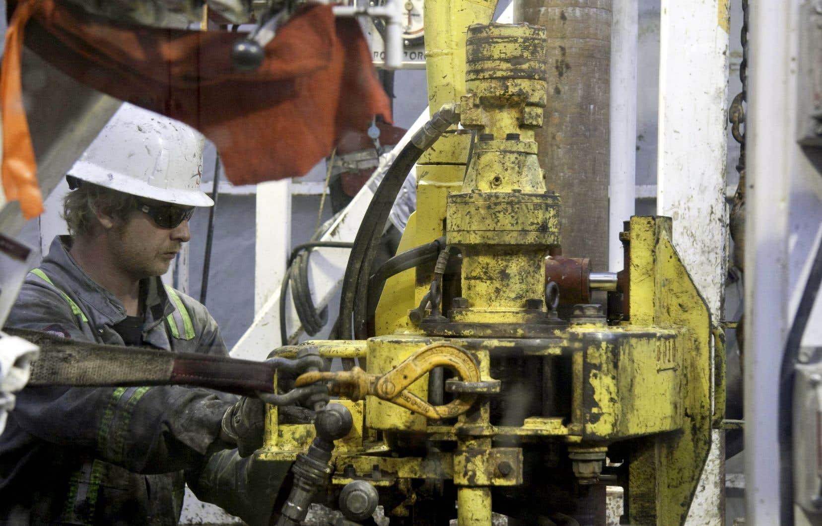Pétrolia contrôle plusieurs permis d'exploration en Gaspésie.