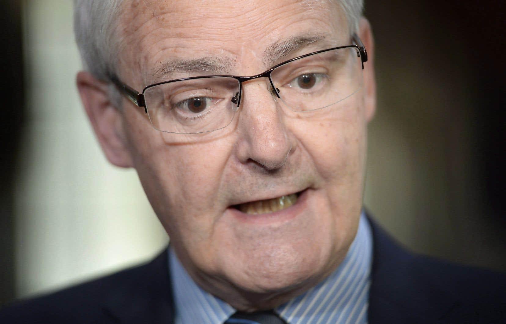 Mardi, le ministre Marc Garneau a martelé que son gouvernement n'avait «pas l'intention de [s']immiscer dans une loi de l'Assemblée nationale».