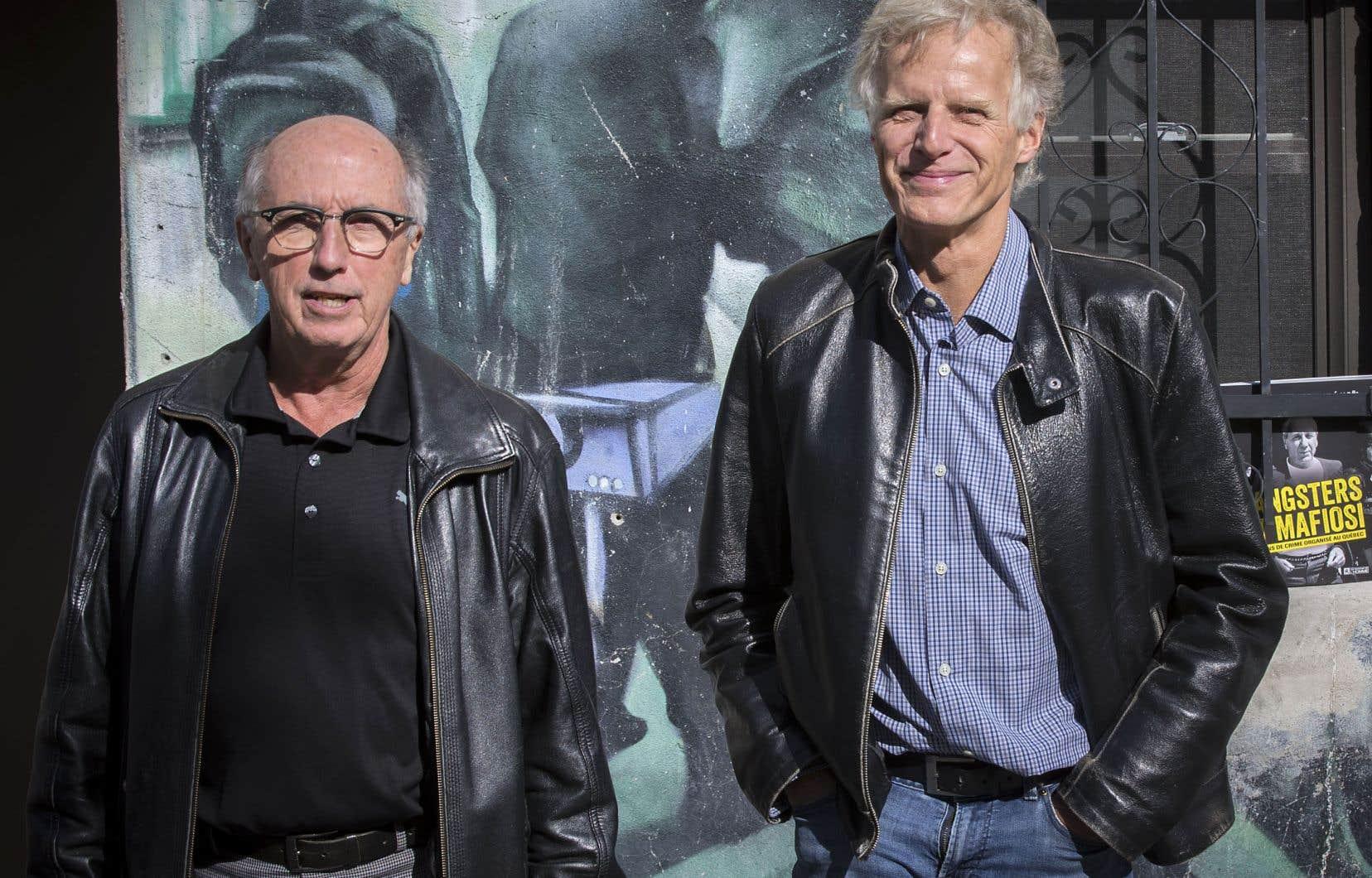 Les journalistes retraités André Cédillot et André Noël publient un ouvrage illustré sur le crime organisé à Montréal.