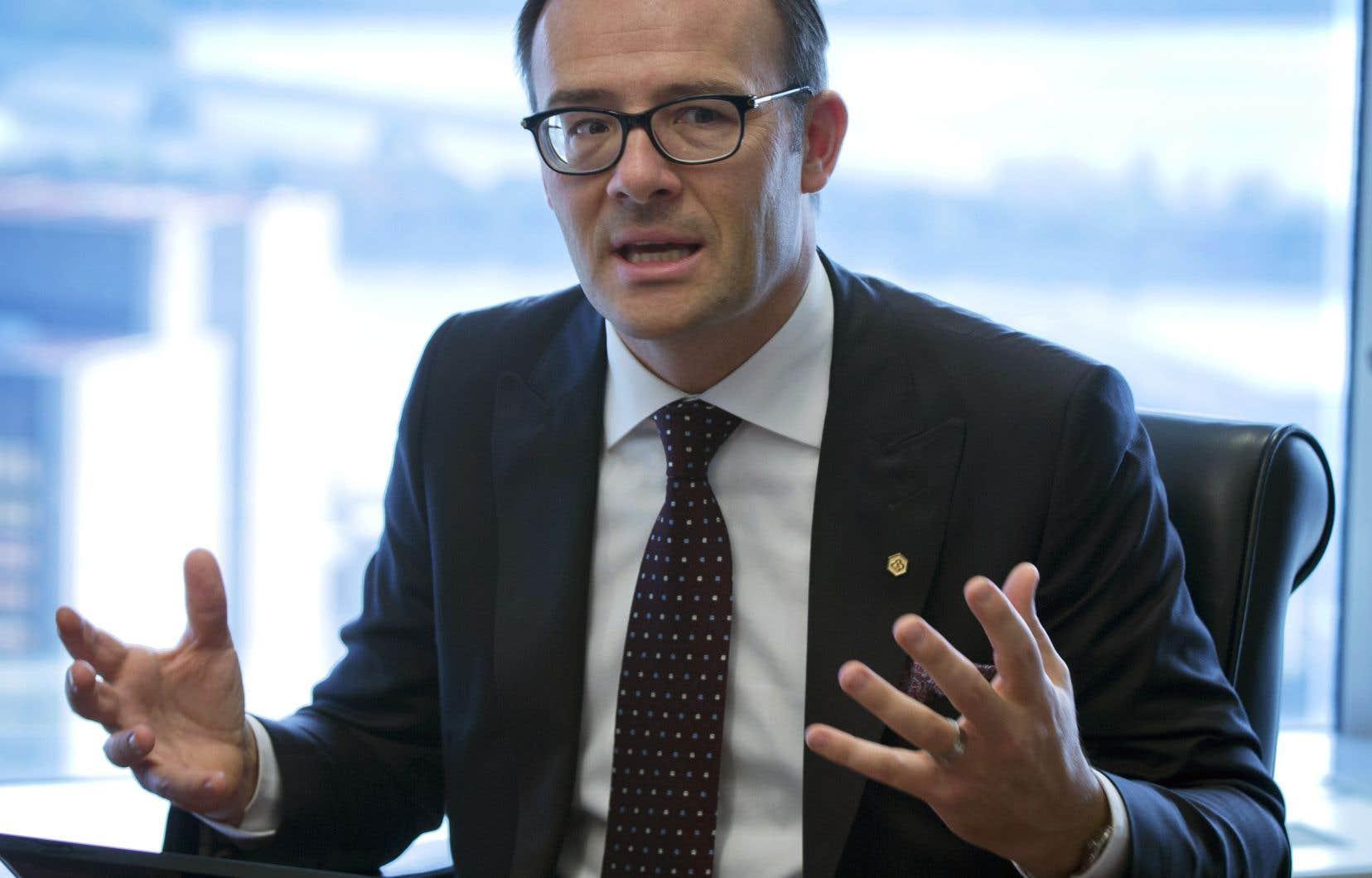 Guy Cormier, président et chef de la direction du Mouvement Desjardins.