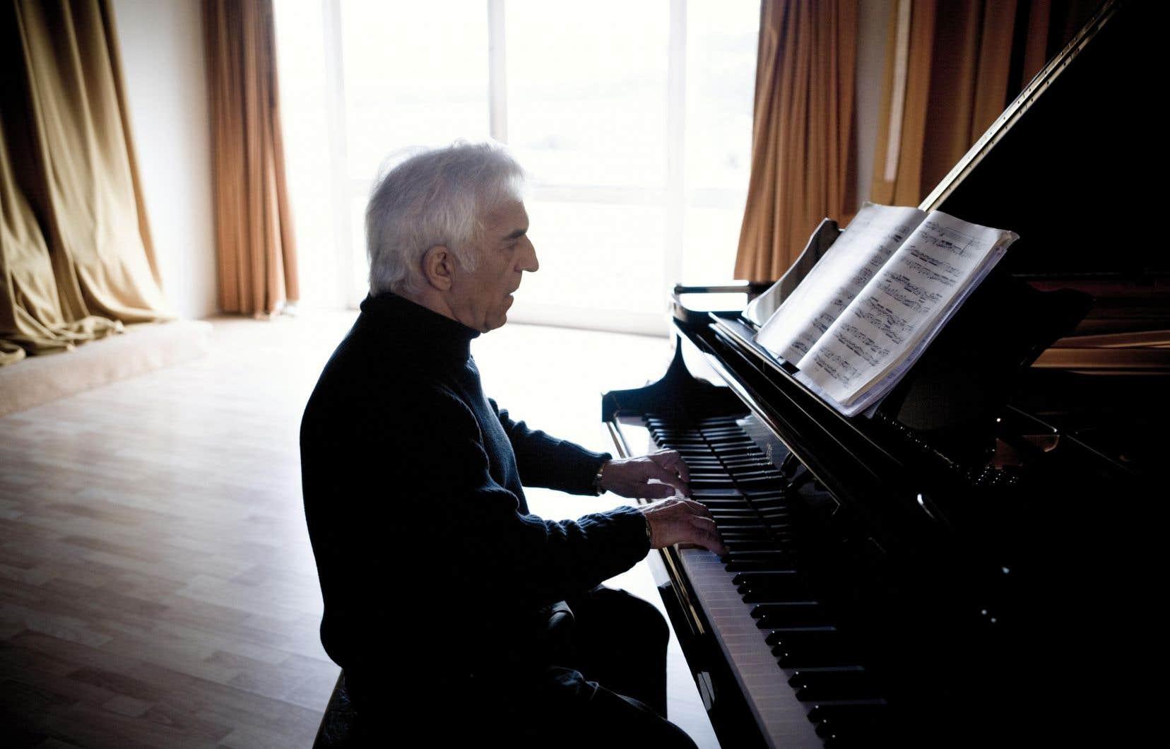 Le pianiste et chef d'orchestreVladimir Ashkenazy