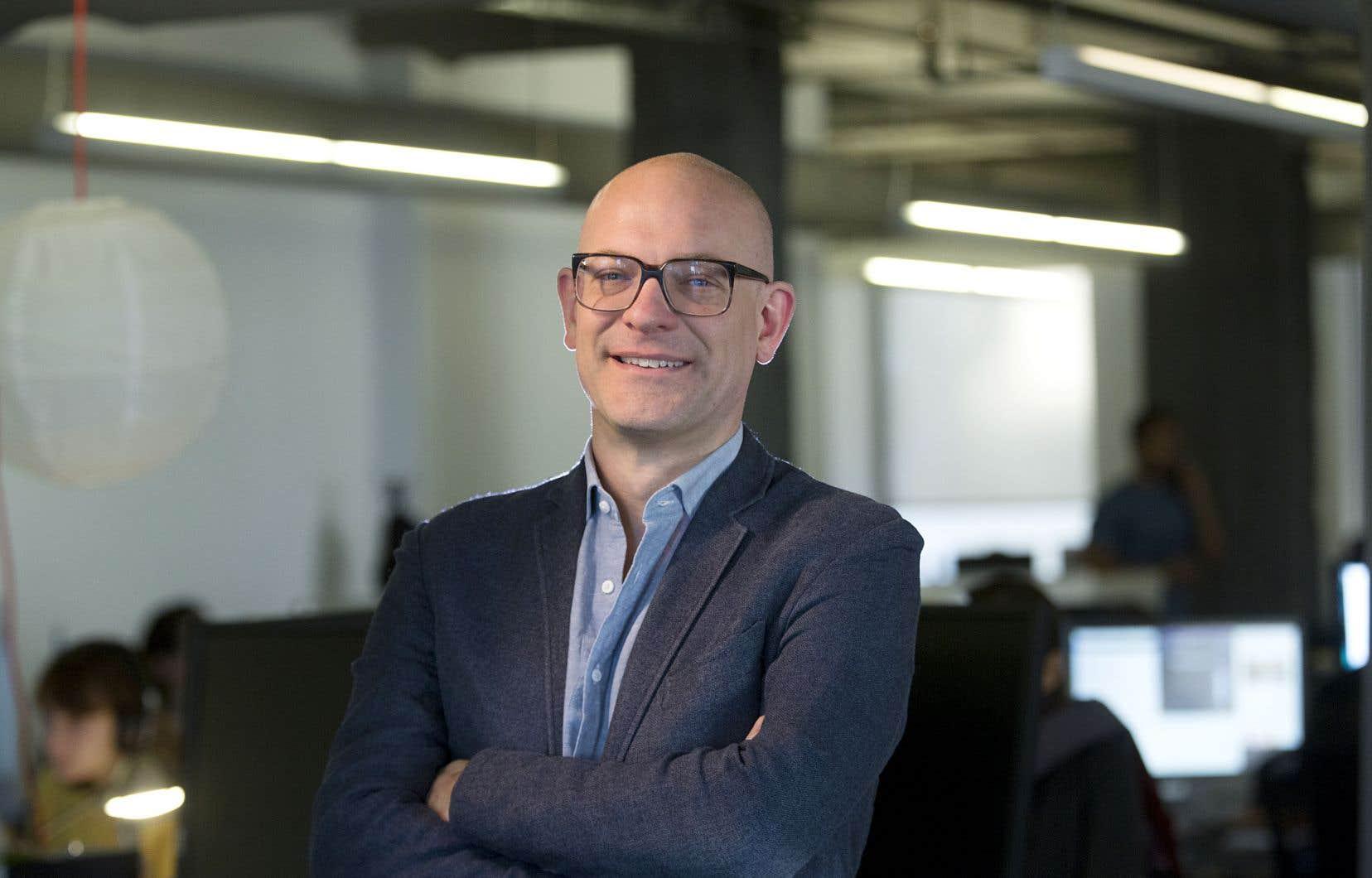 Marc-Antoine Ducas, le fondateur de Netlift