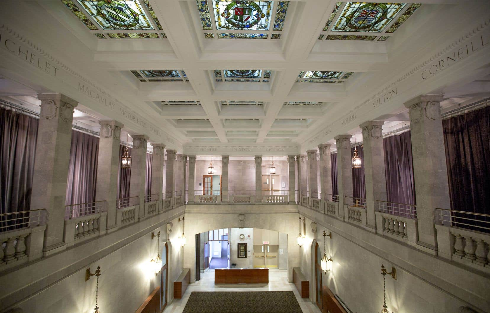 La bibliothèque centrale de Montréal a vu le jour en 1917.