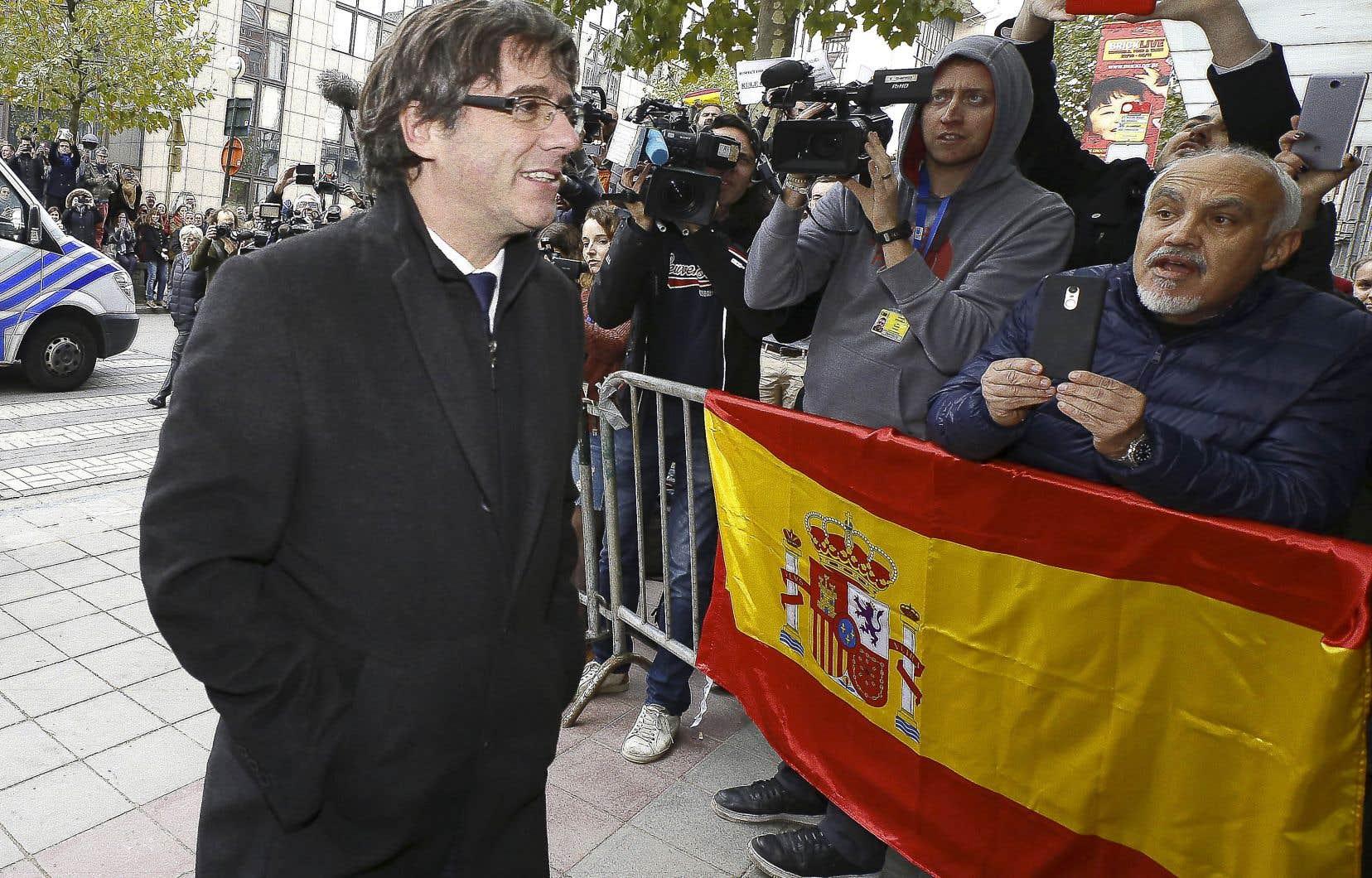Carles Puigdemont a assuré qu'il ne demanderait pas l'asile politique en Belgique.