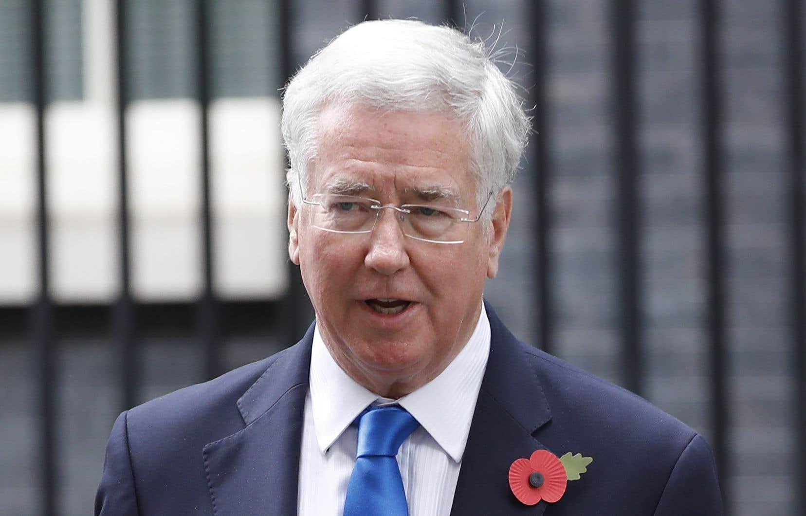 L'ex-ministre de la Défense dans le gouvernement de Theresa May,Michael Fallon