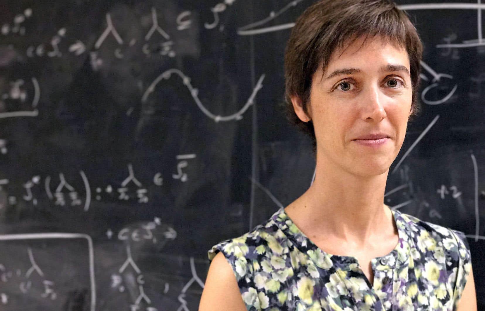 <p>La directrice du laboratoire d'intelligence artificielle de Facebook à Montréal, Joëlle Pineau</p>