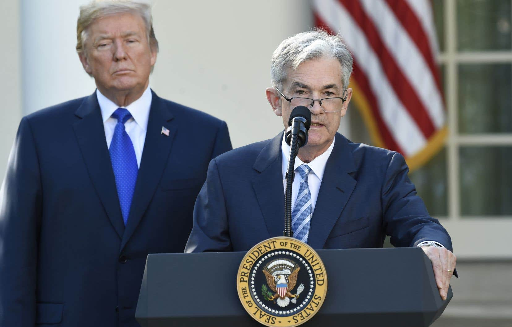 Le président Donald Trump a annoncé jeudi qu'il désignait Jerome Powell pour diriger la Fed.