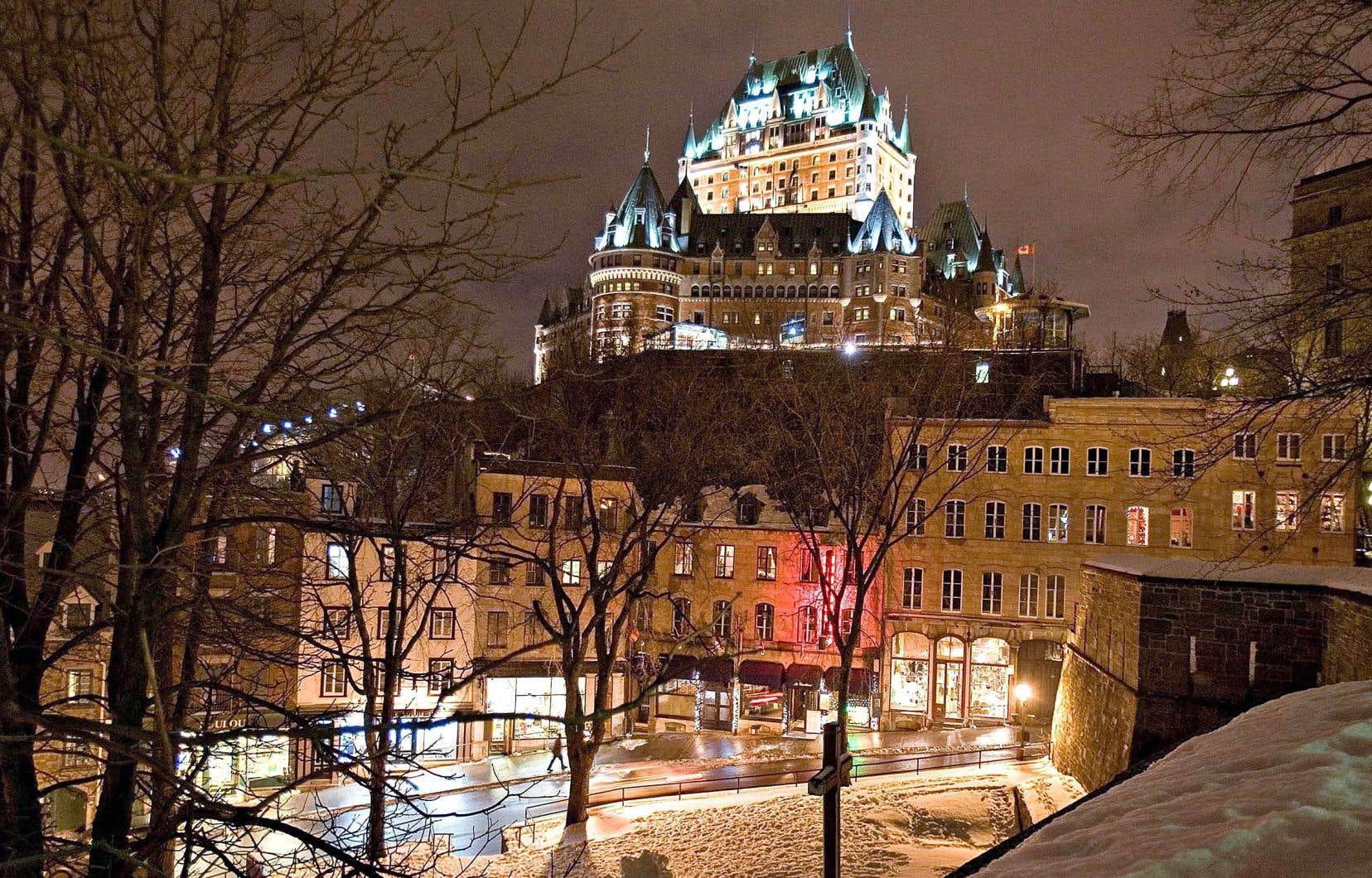 Le Château Frontenac de Québec