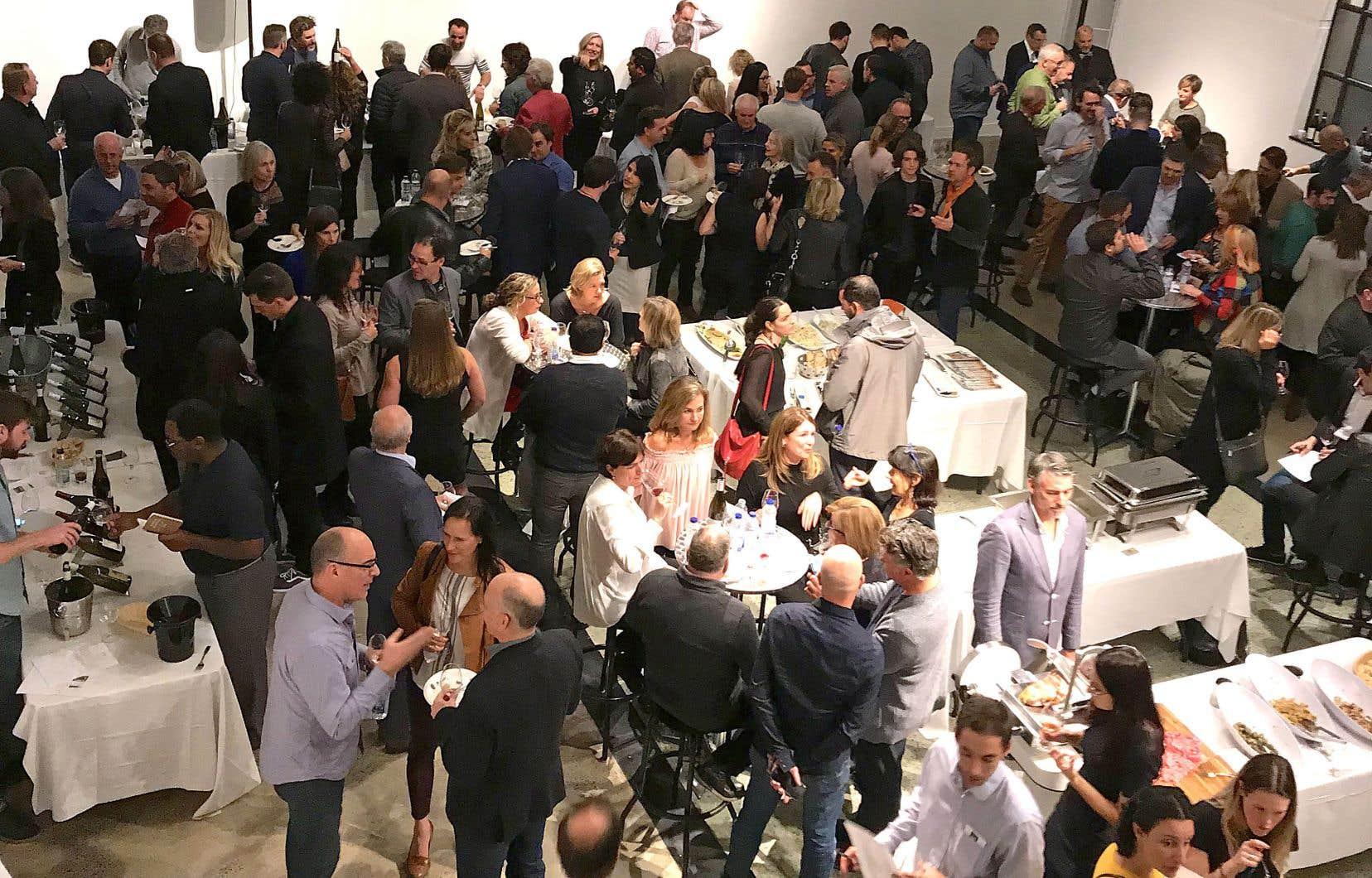 Bon nombre de vignerons avaient troqué la fraîcheur de leur chai pour la chaleur des multiples salons québécois ces derniers jours.