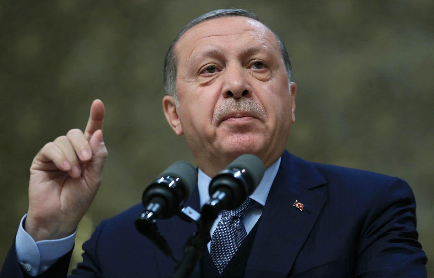Le président turc, Recep Tayyip Erdogan