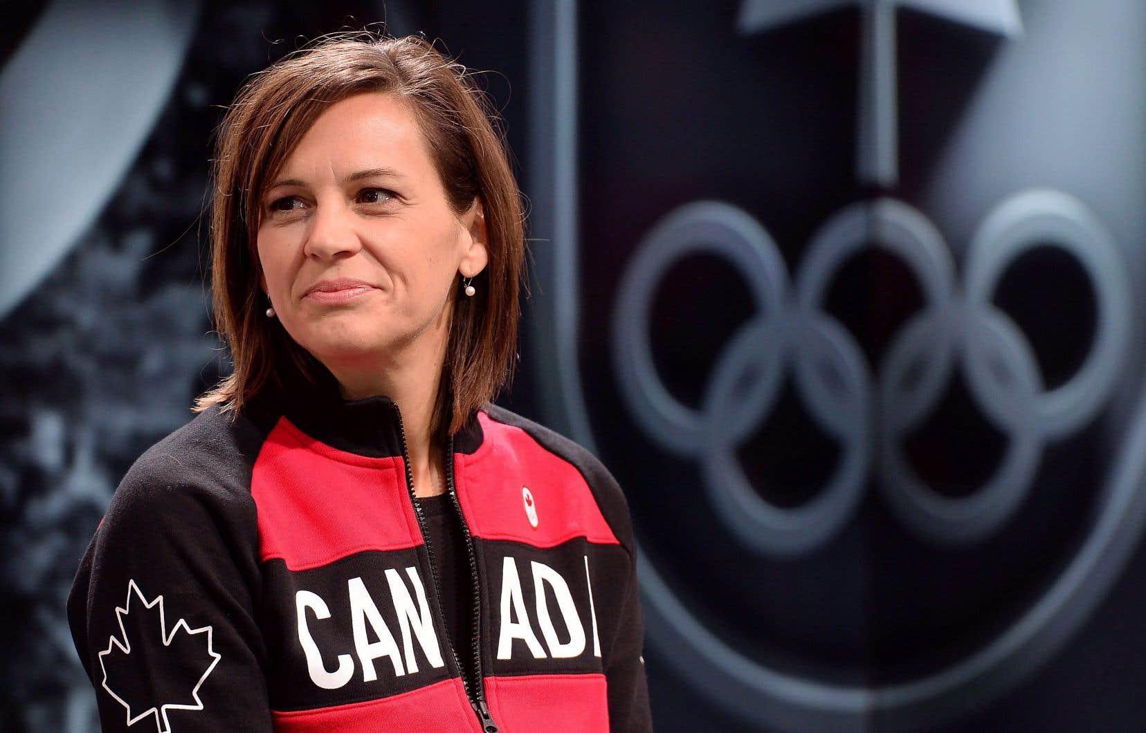 Chef de mission aux prochains Jeux olympiques, Isabelle Charest veut profiter de sa tribune pour promouvoir le sport auprès des filles.