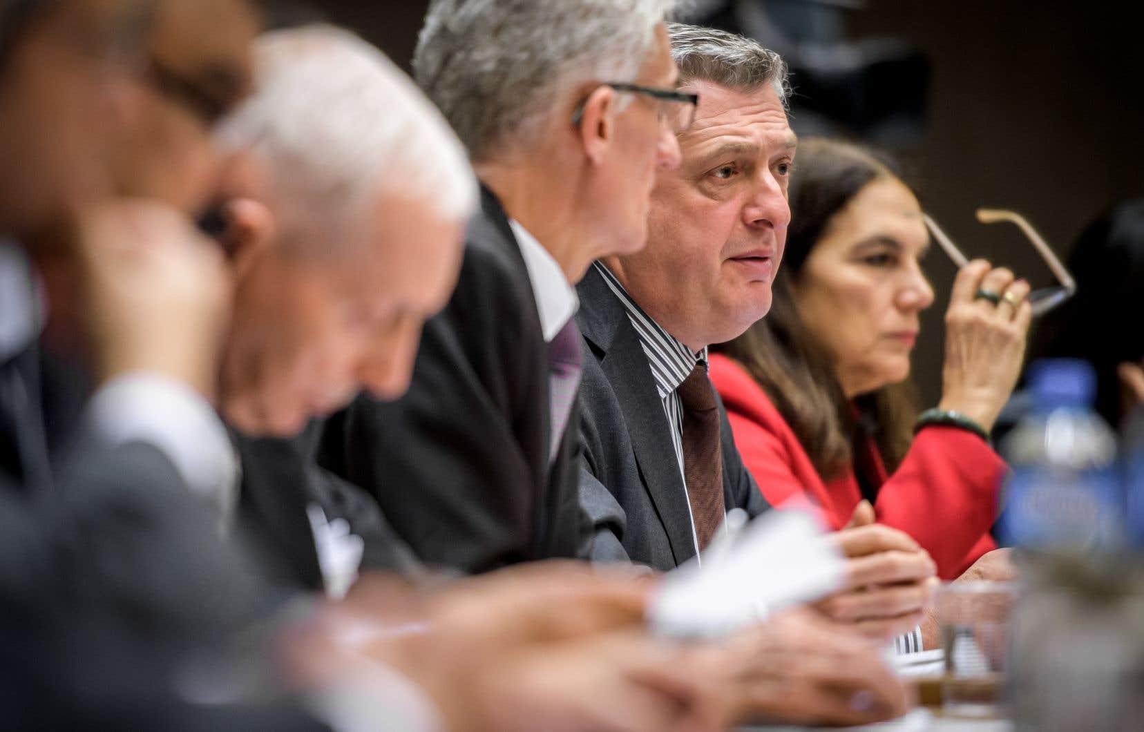 Le haut-commissaire des Nations unies pour les réfugiés, Filippo Grandi