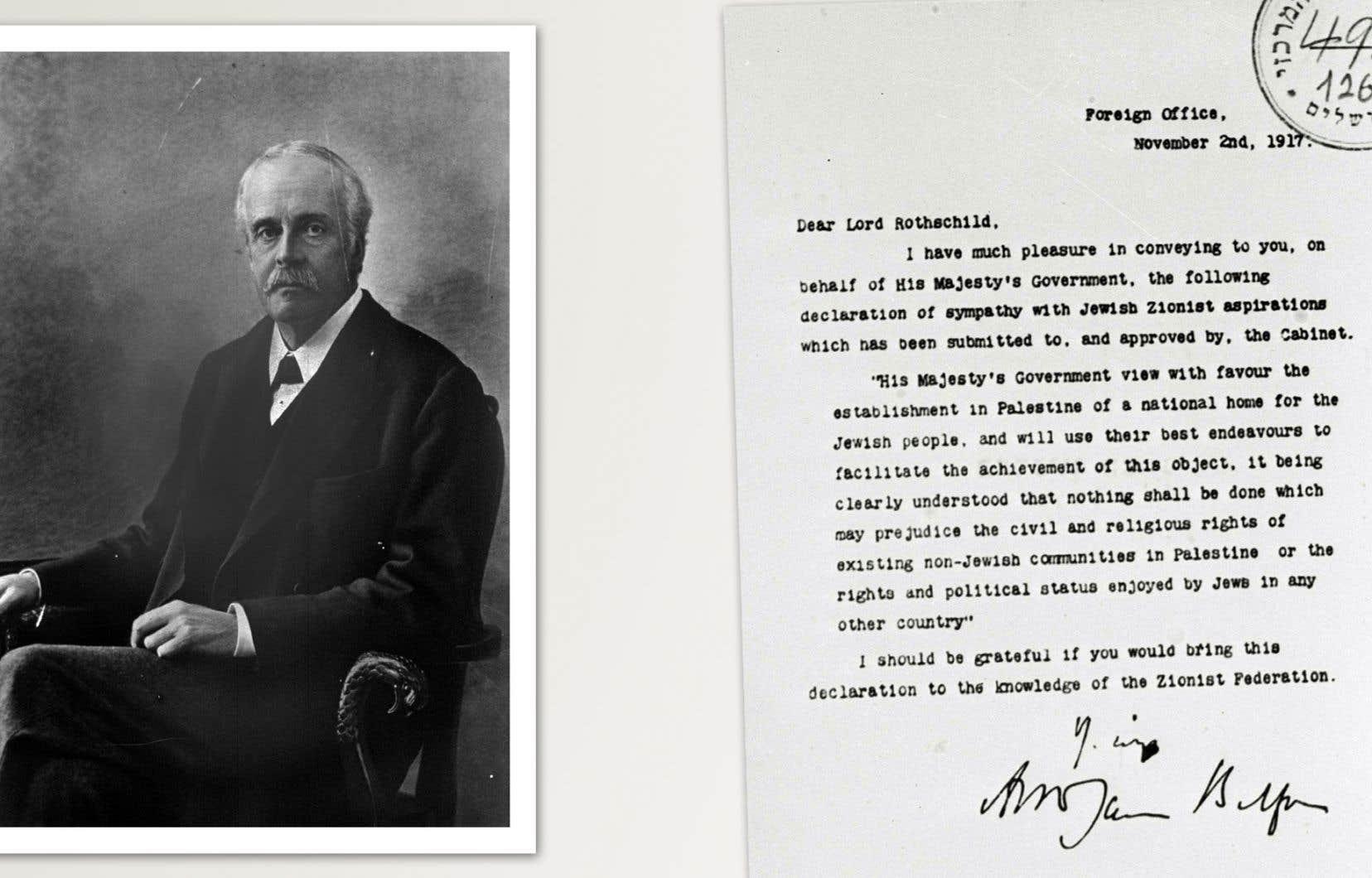 Chercher à voir en la déclaration Balfour la cause de tous les maux, c'est aussi faire abstraction de tout le passé des Juifs minoritaires au sein des pays arabes, estime l'auteur.