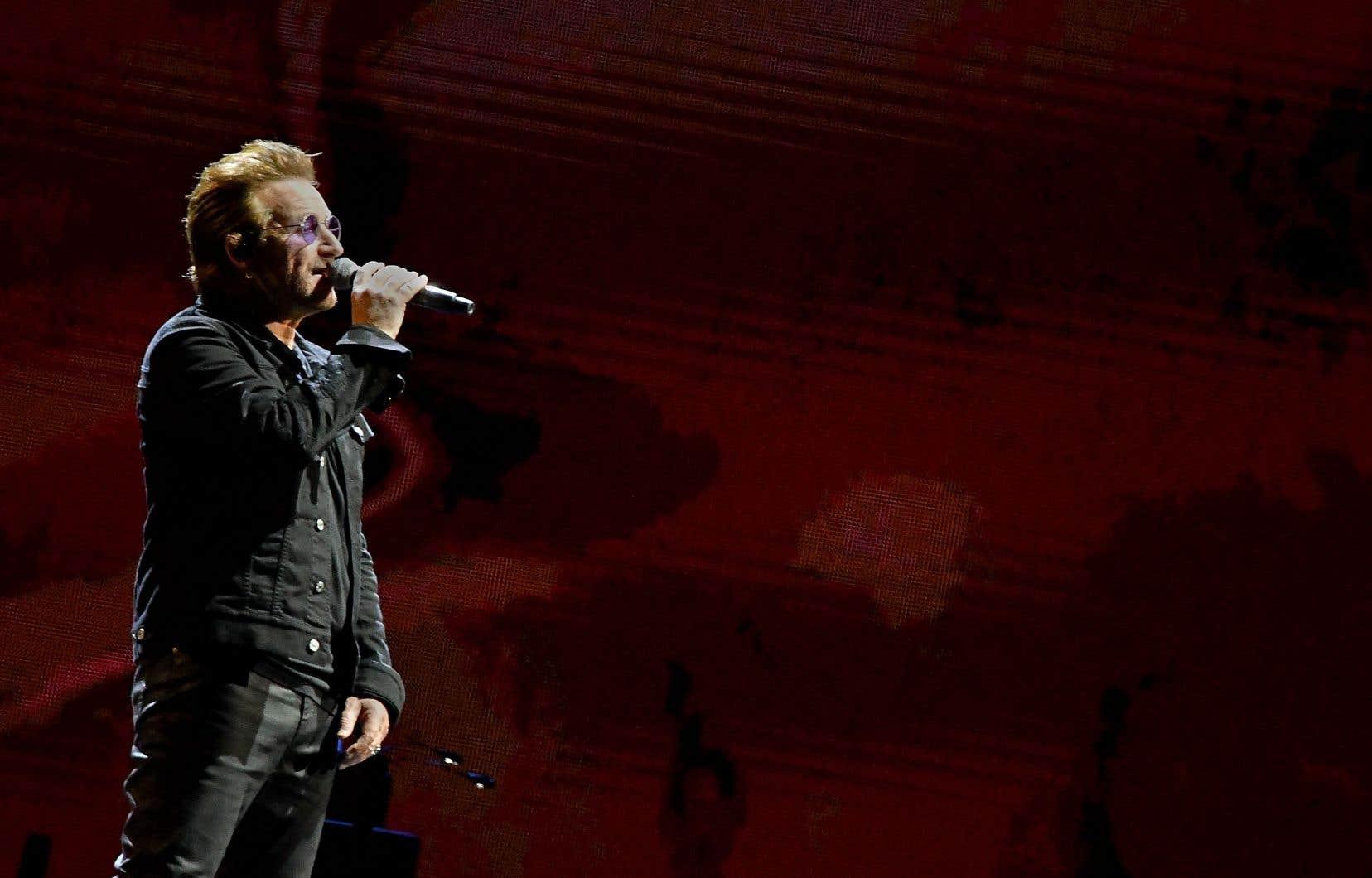 Les révélations des Paradise Papers concernent également des personnalités du monde sportif ou artistique, comme Bono, chanteur de U2.