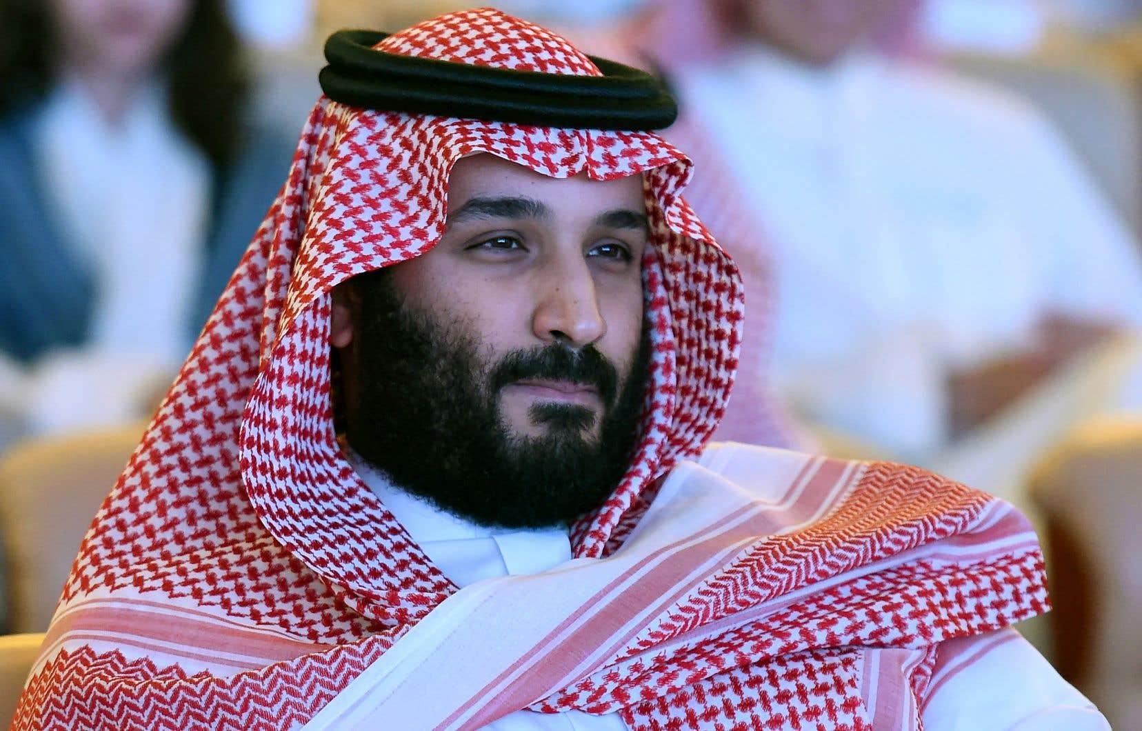 Le prince héritier de l'Arabie saoudite, Mohammed ben Salman