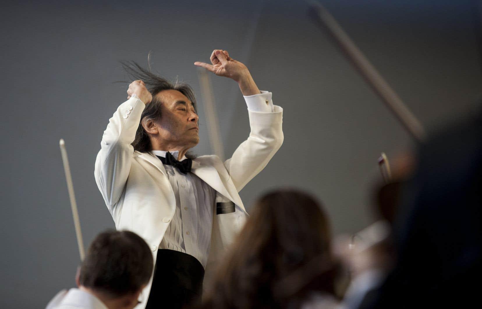 Le directeur musical de l'OSM, Kent Nagano