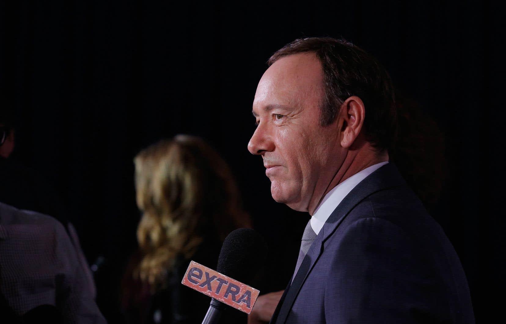 Kevin Spacey a aussi été congédié de la production de «House of Cards».
