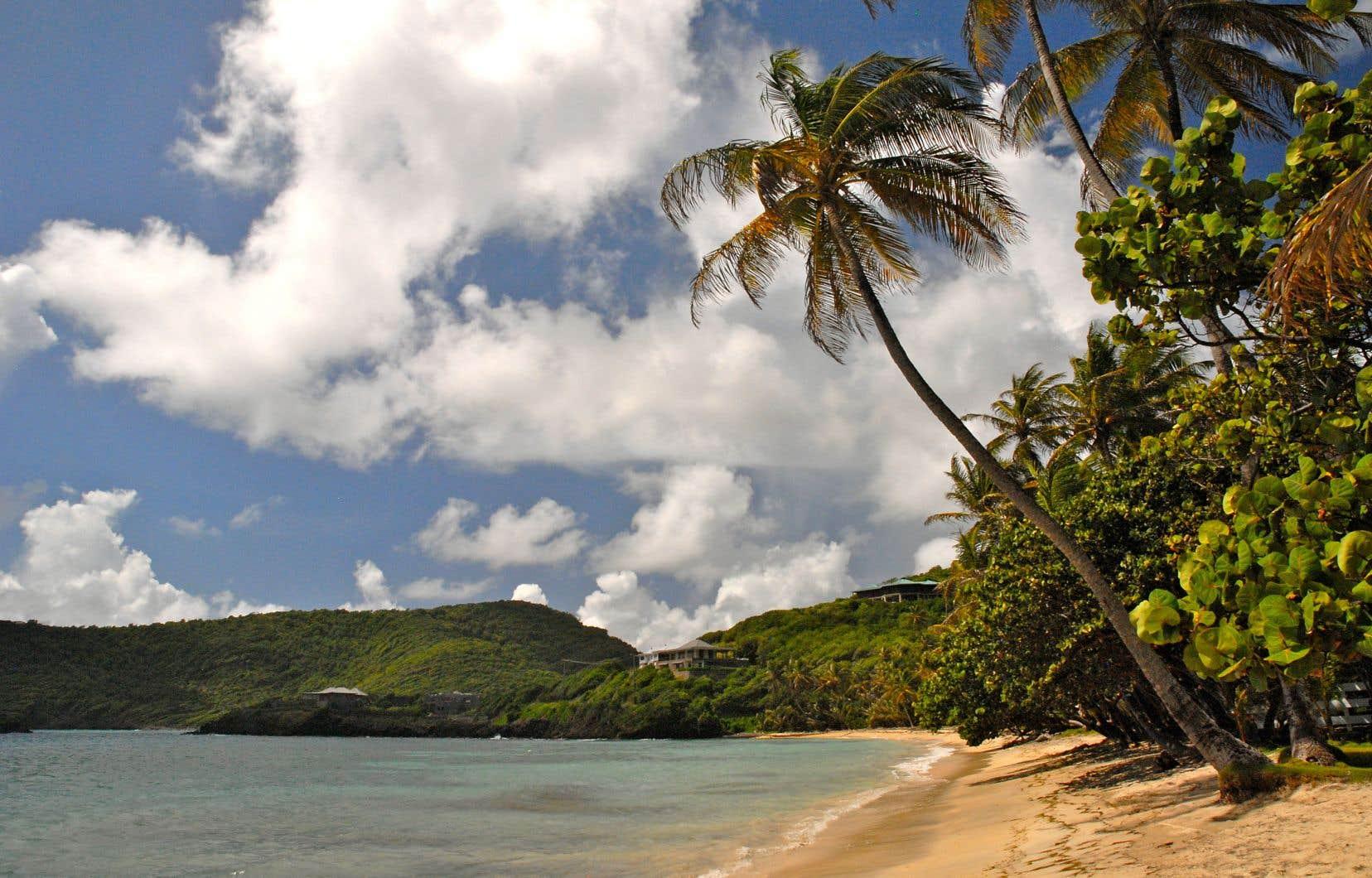 Une des splendides plages de l'archipel de Saint-Vincent-et-les-Grenadines, une destination qui n'a pas été touchée par les ouragans cet automne.