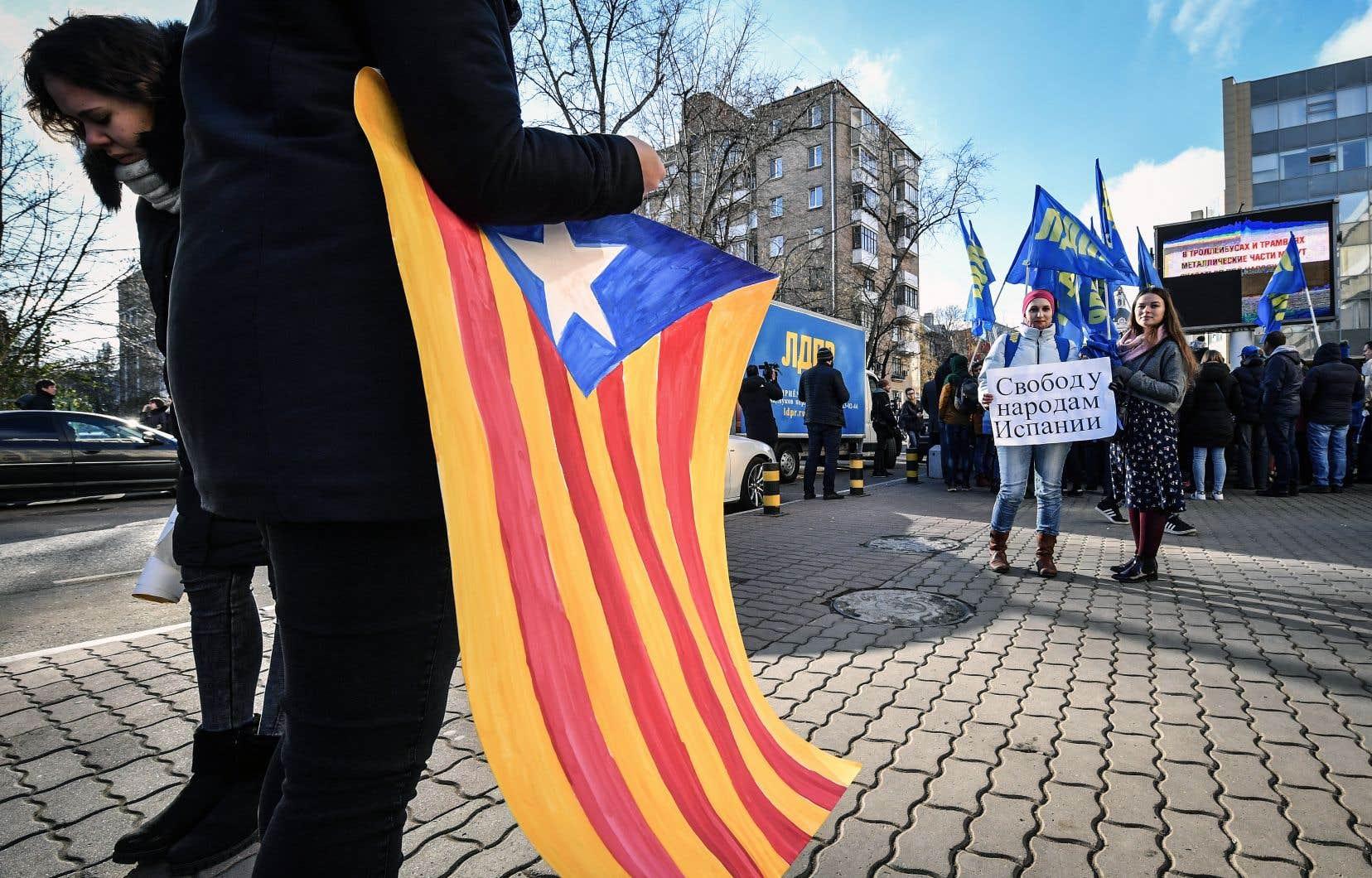 Deux millions de Catalans se sont prononcés pour l'indépendance de leur peuple le 1eroctobre dernier.