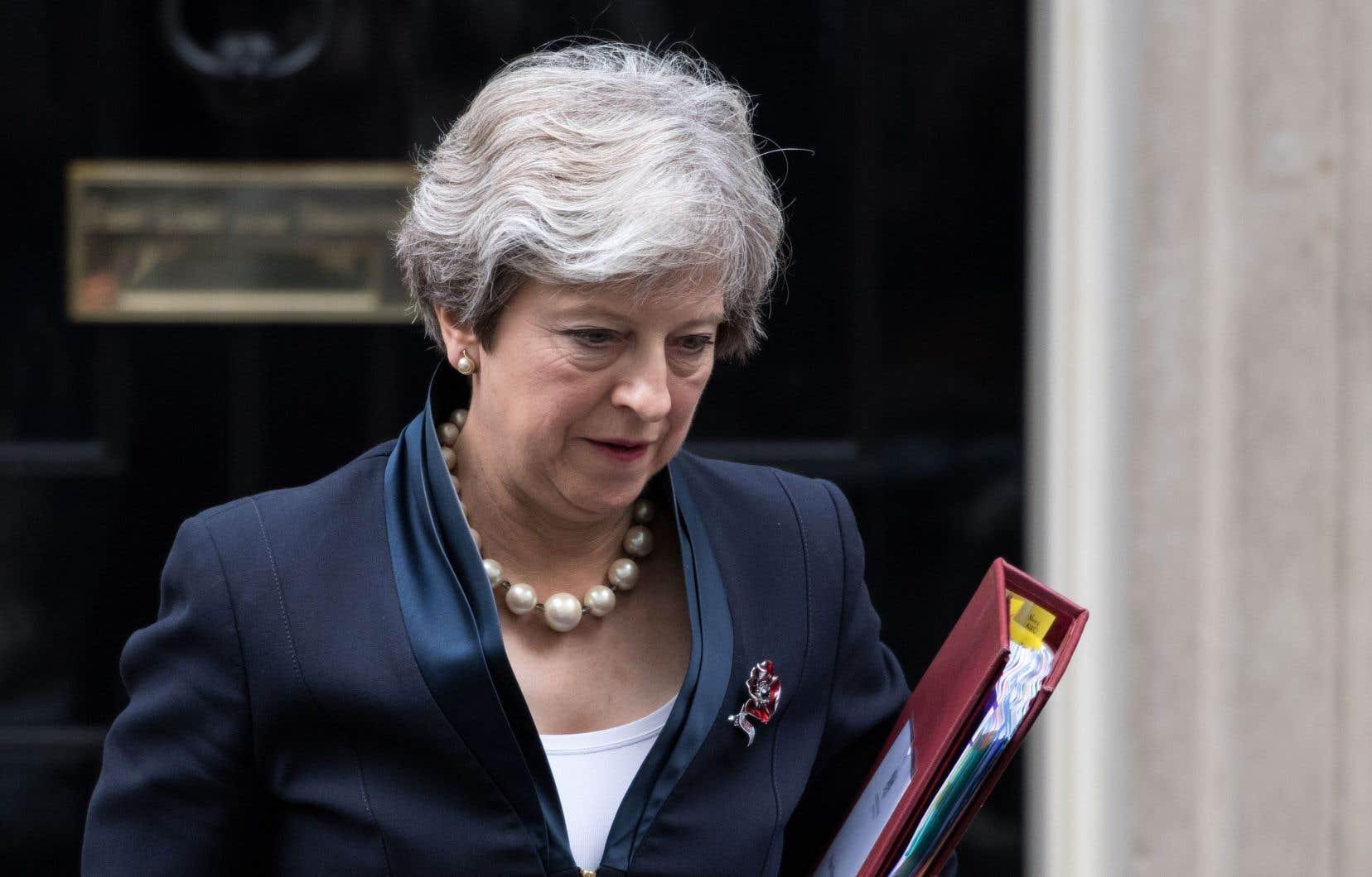 La première ministre britannique, Theresa May.