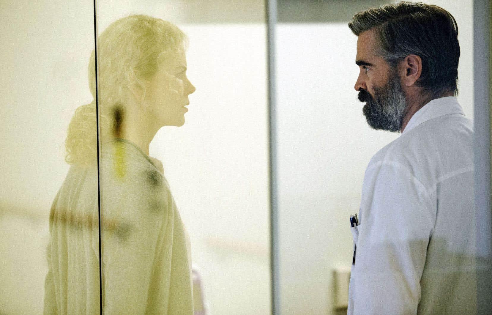 Coiffé du Prix du scénario au dernier Festival de Cannes, le film donne la vedette à Nicole Kidman et à Colin Farrell.