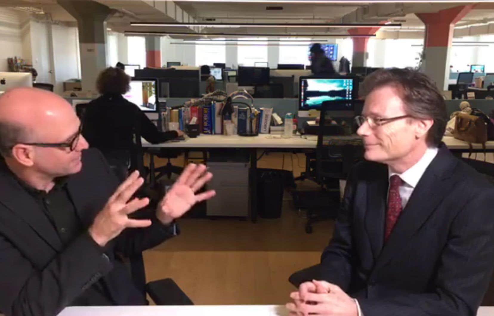Le journaliste Éric Desrosiers a posé quelques questions à Jean-Pierre Vidal, expert en fiscalité internationale à HEC Montréal.