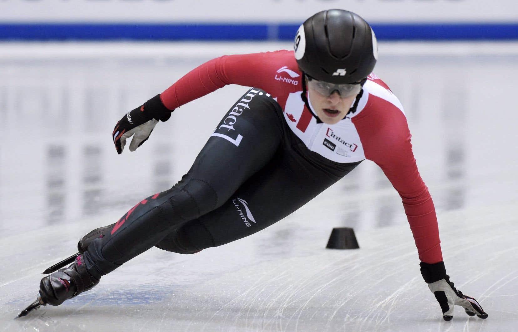 Kim Boutina remporté le 1000m devant Marianne St-Gelais lors de la Coupe du monde.