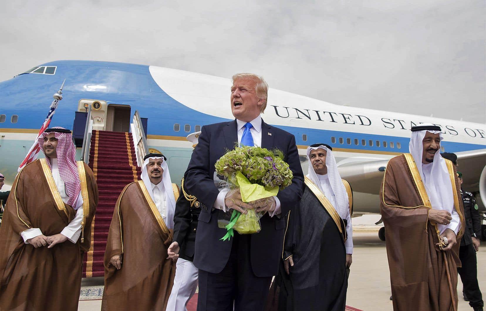 L'adoption de la «doctrine Trump» a été le déclic qui a encouragé l'Arabie saoudite à durcir sa politique régionale à la suite de la visite du président américain en mai.