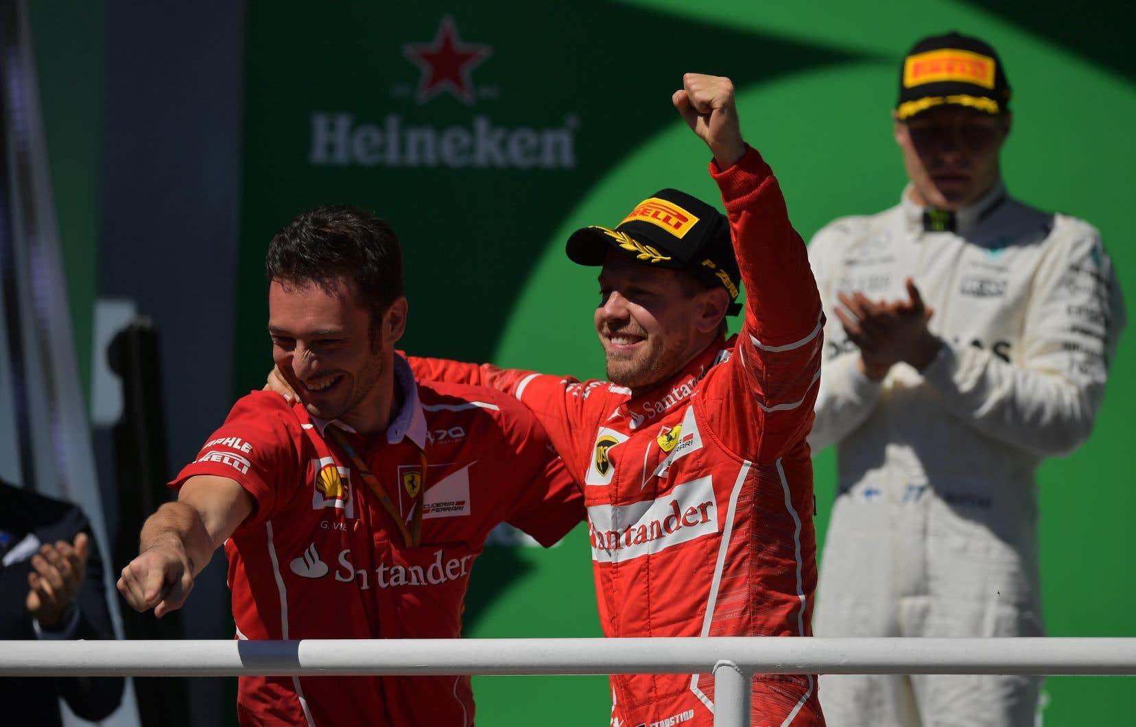Vettel consolide ainsi sa deuxième place au classement général.