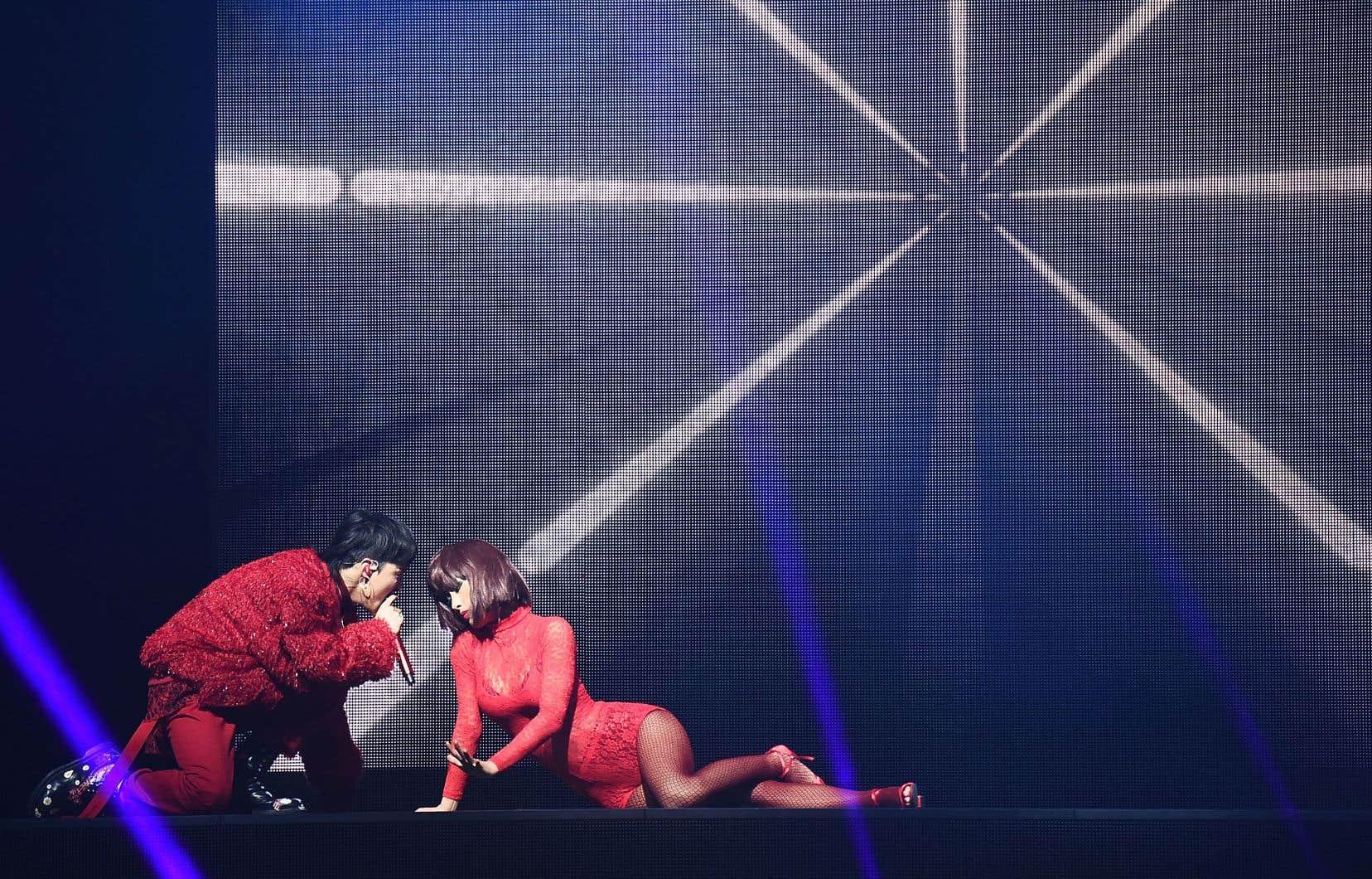 Spectacle du chanteur sud-coréen G-Dragon à Brooklyn, en juillet dernier