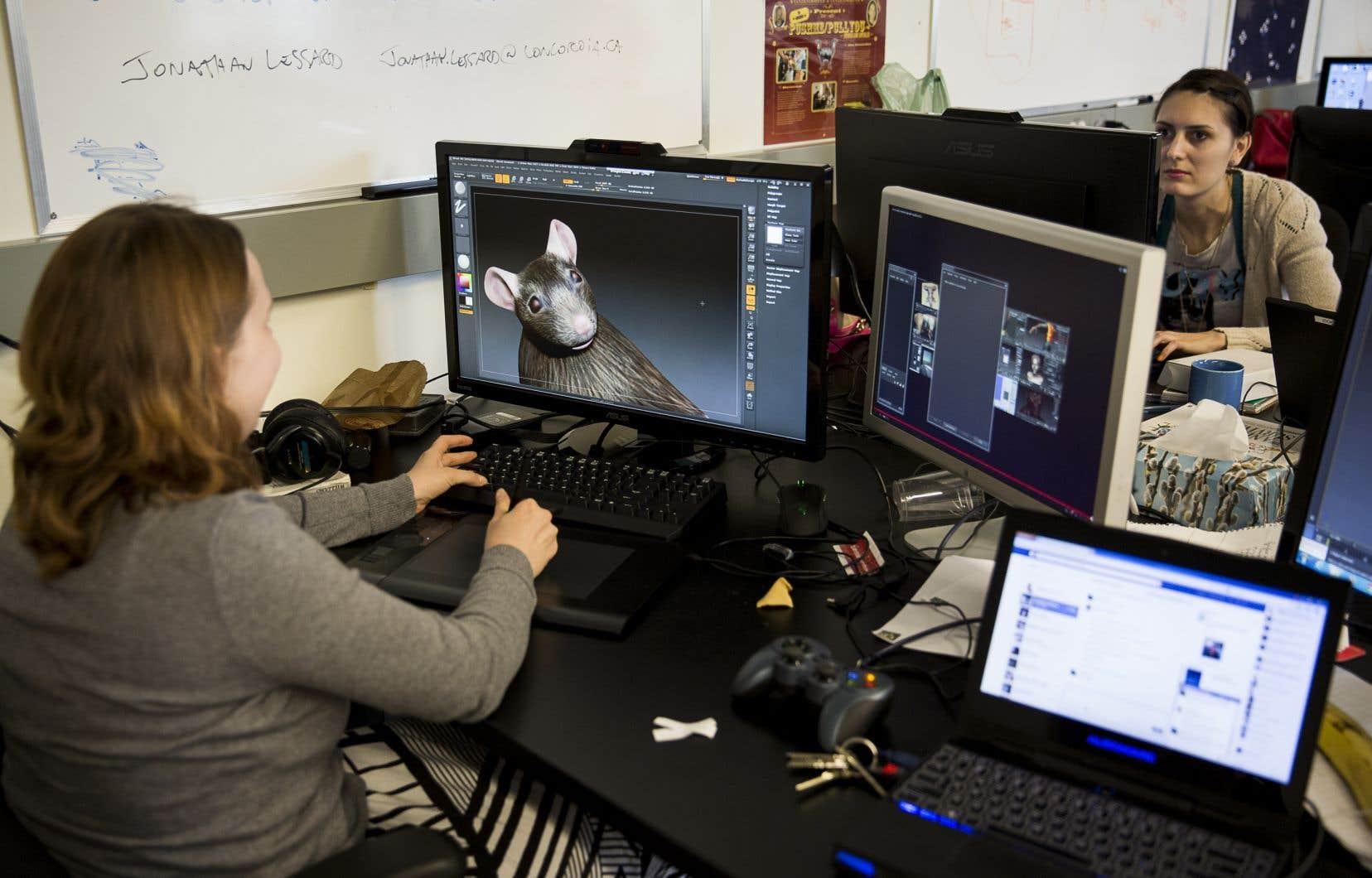 Le Centre de technologie, d'art et de jeux de l'Université Concordia