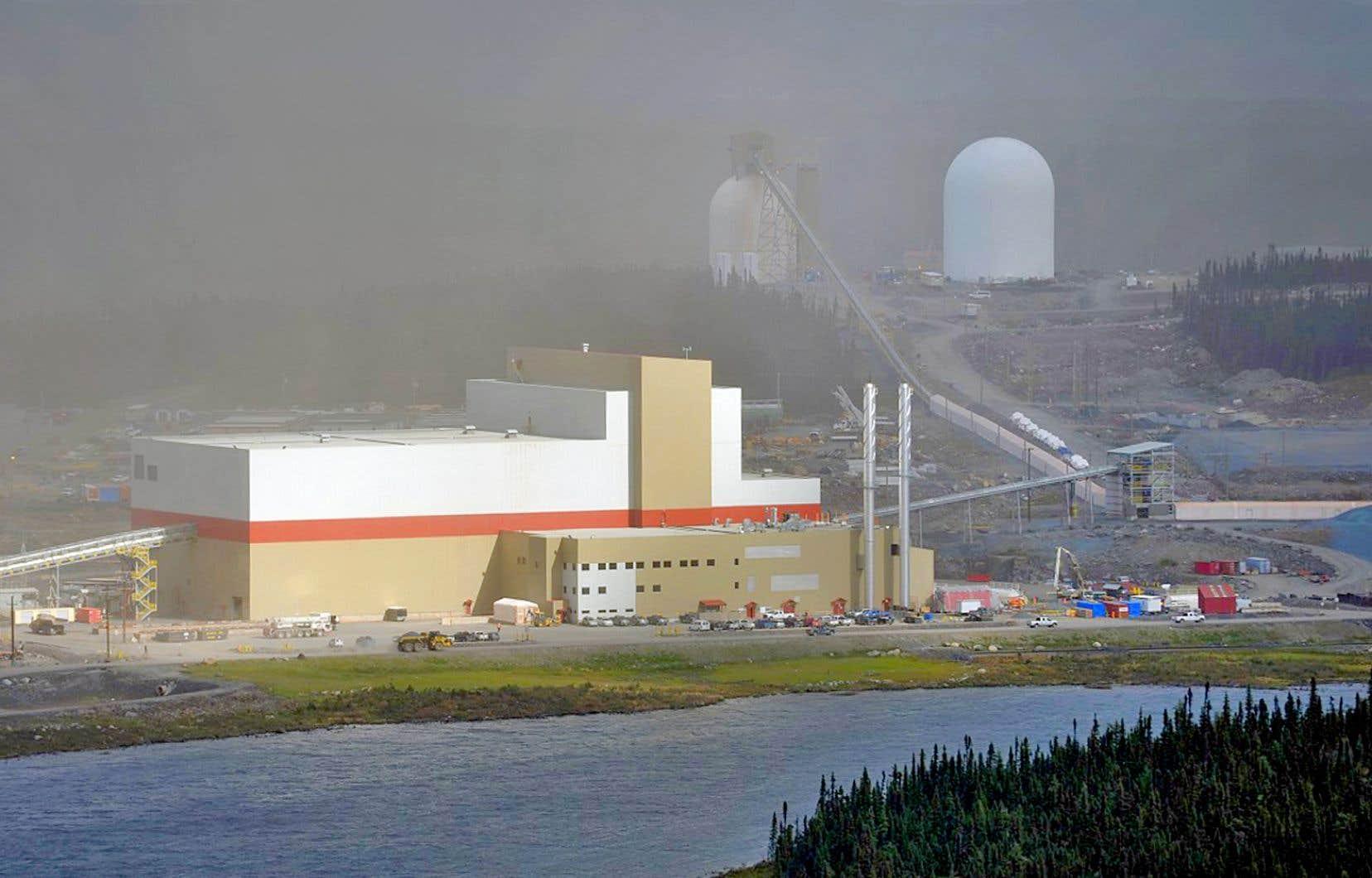 La production de concentré de fer de la mine du lac Bloom devrait atteindre 7,5 millions de tonnes par année.