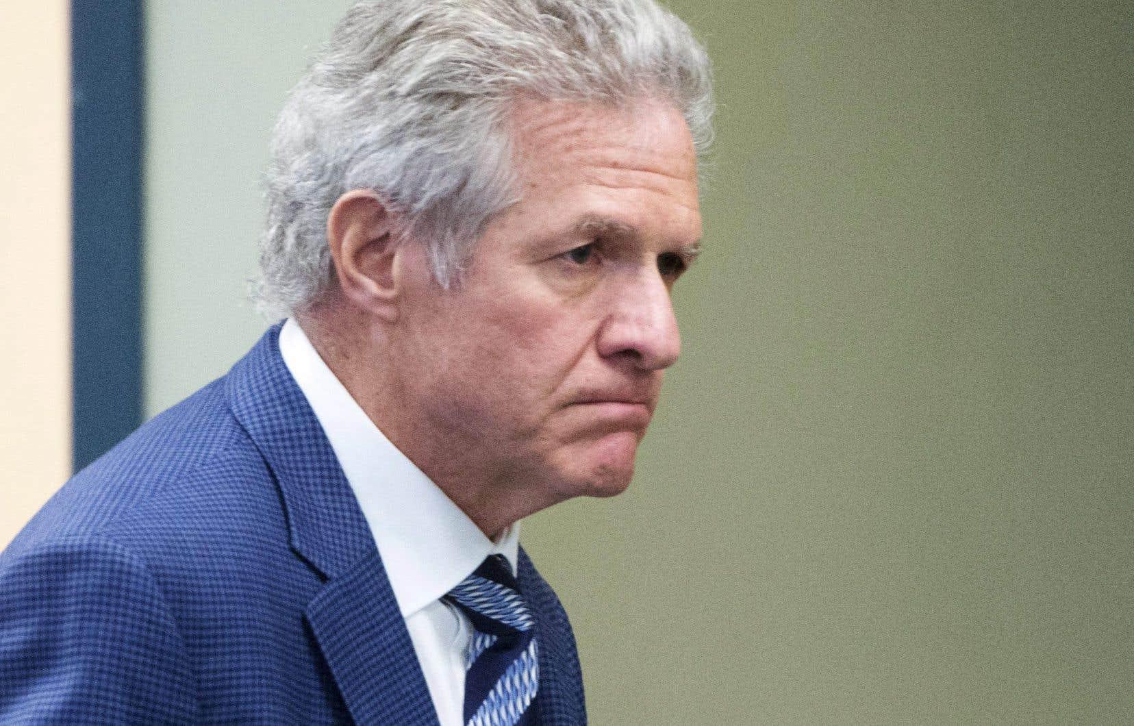 L'entrepreneur Antonio Accurso, en procès au palais de justice de Laval