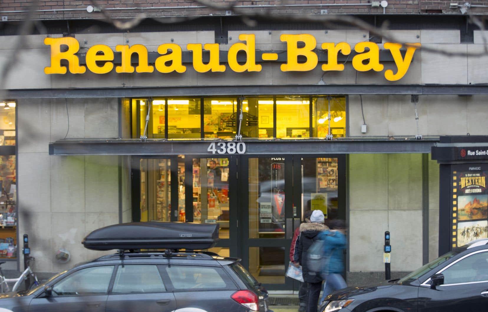Renaud-Bray a obtenu de la SODEC des subventions totalisant 1,1million en 2016-2017.