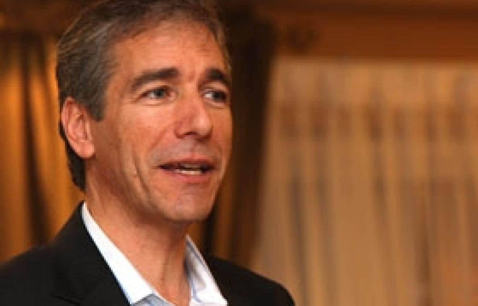 Le chef du Parti vert, Guy Rainville