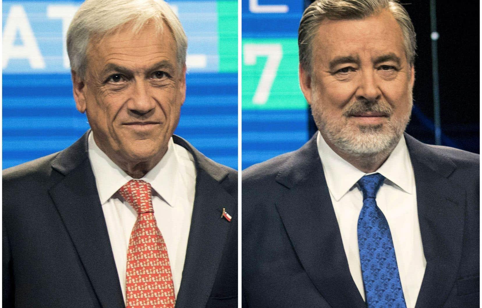 Sebastian Piñera, en tête du premier tour de l'élection présidentielle au Chiliaffrontera au second tour le candidat socialiste Alejandro Guillier.