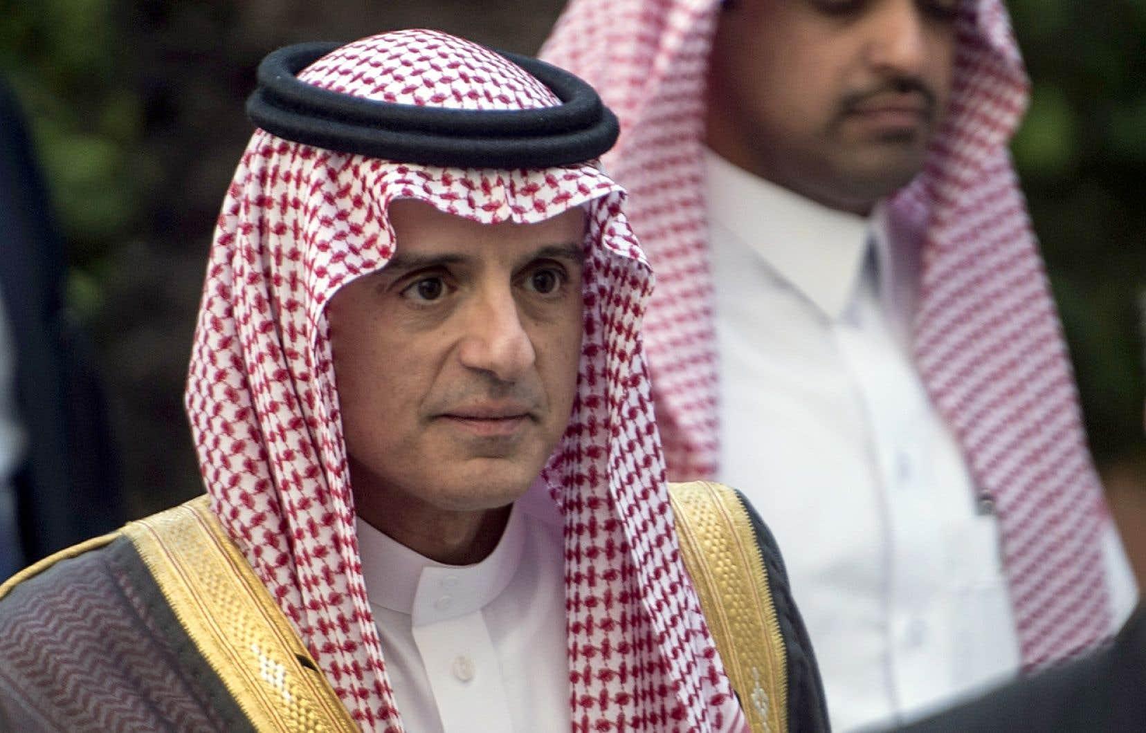 « L'Arabie saoudite ne restera pas les bras croisés face aux agressions de l'Iran », a déclaré le ministre saoudien des Affaires étrangères, Adel al-Jubeir.