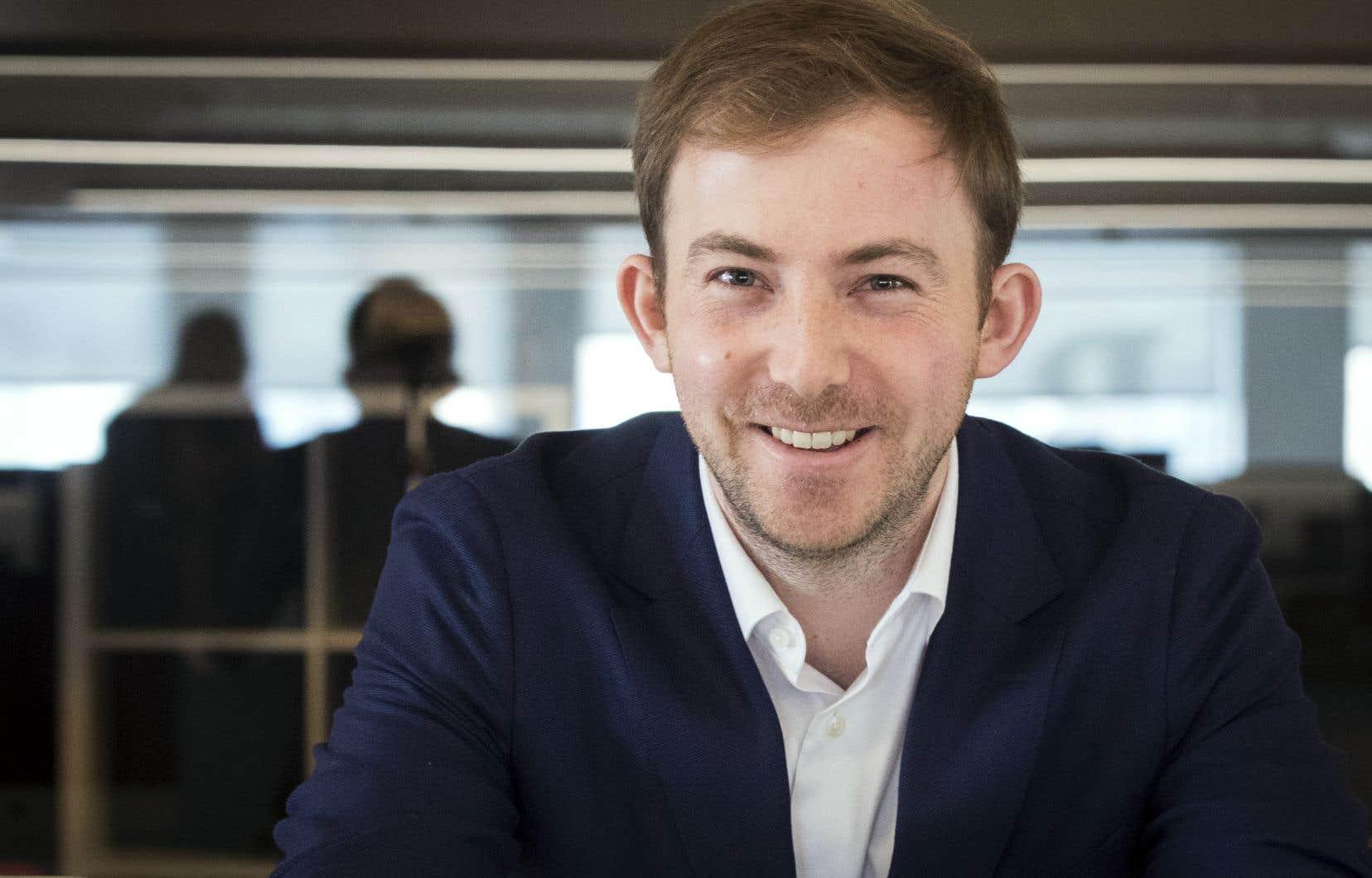 Michael Katchen, âgé de 29 ans, a fait naître Wealthsimple en conseillant des amis dans leurs investissements.