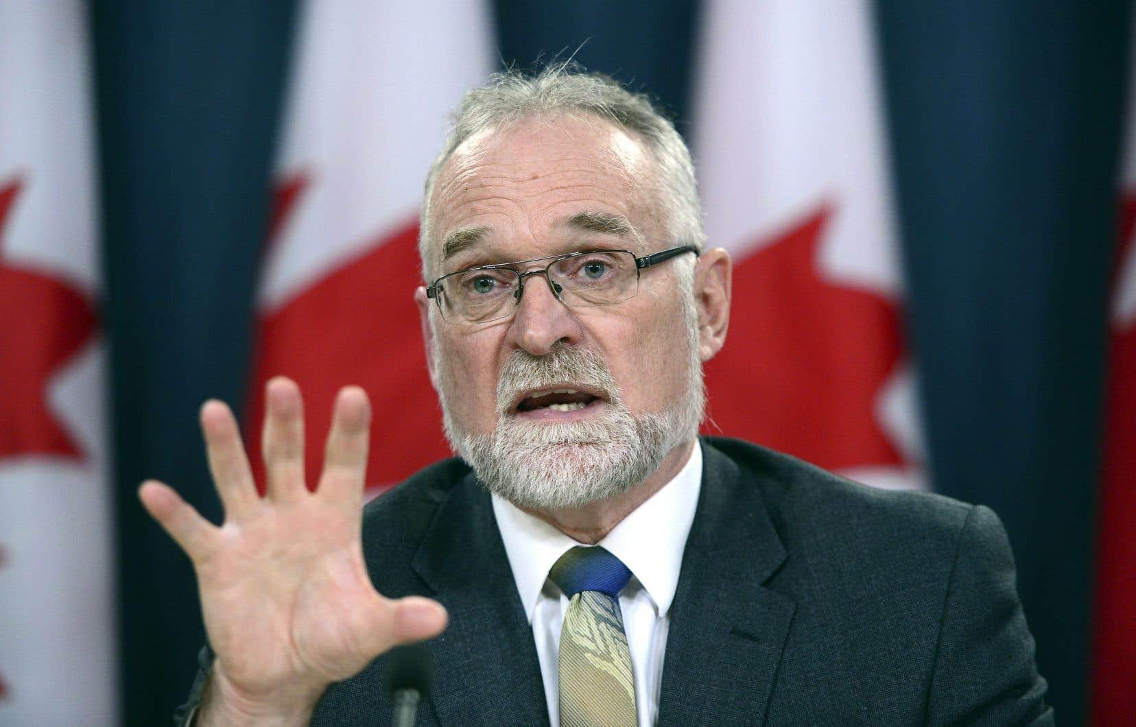 Le vérificateur général du Canada, Michael Ferguson, a déposé mardi à Ottawa un rapport dévastateur pour l'Agence du revenu du Canada.