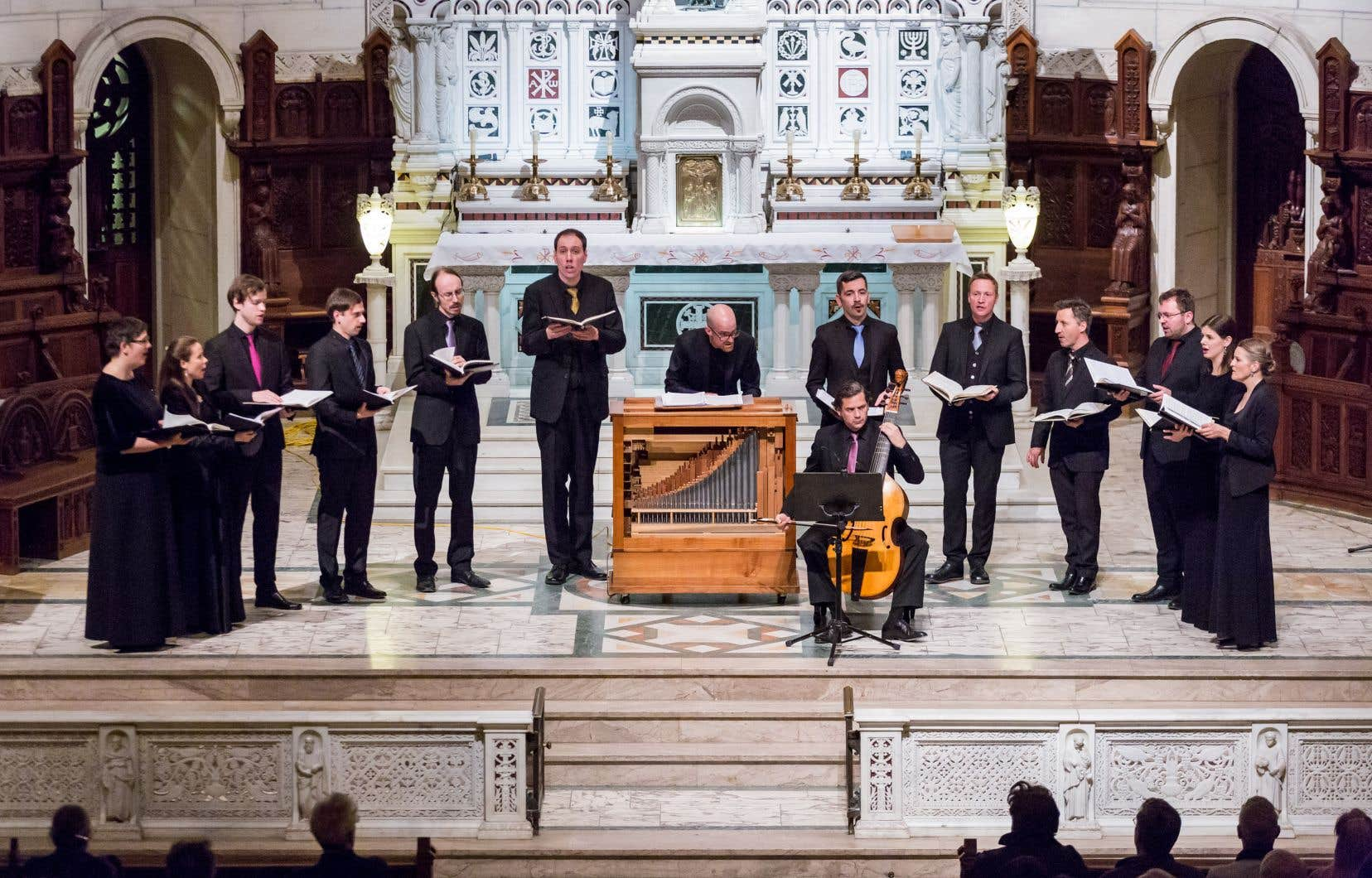 L'ensemble vocal belge Vox Luminis