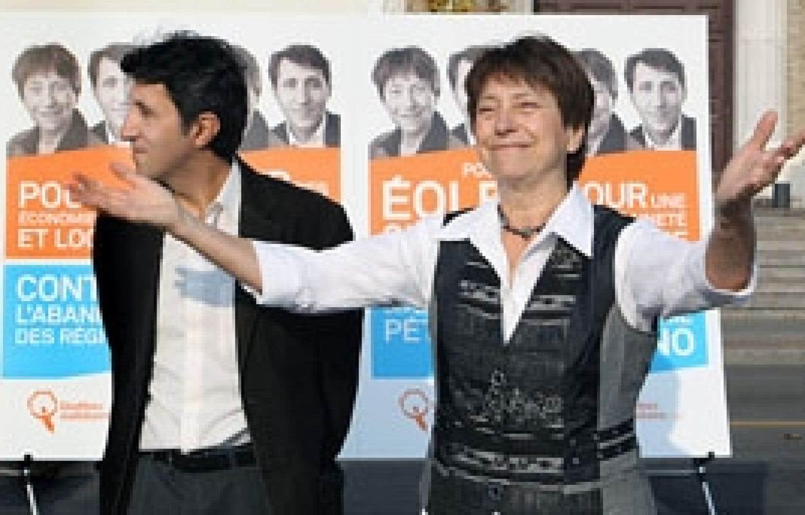 Amir Khadir et Françoise David