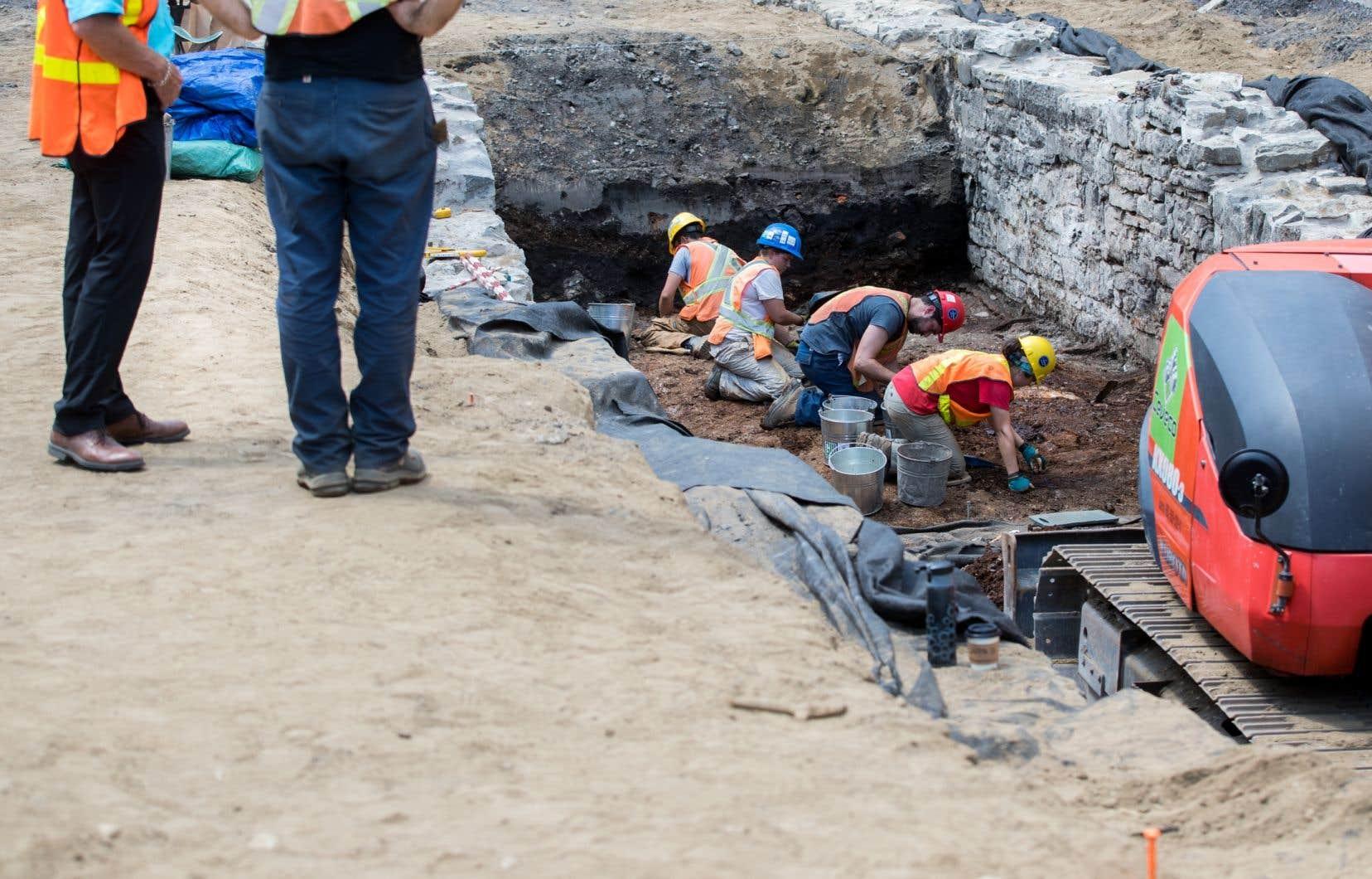 Les archéologues de Québec n'auront plus accès aux artefacts qui sont issus de leurs chantiers de fouille.